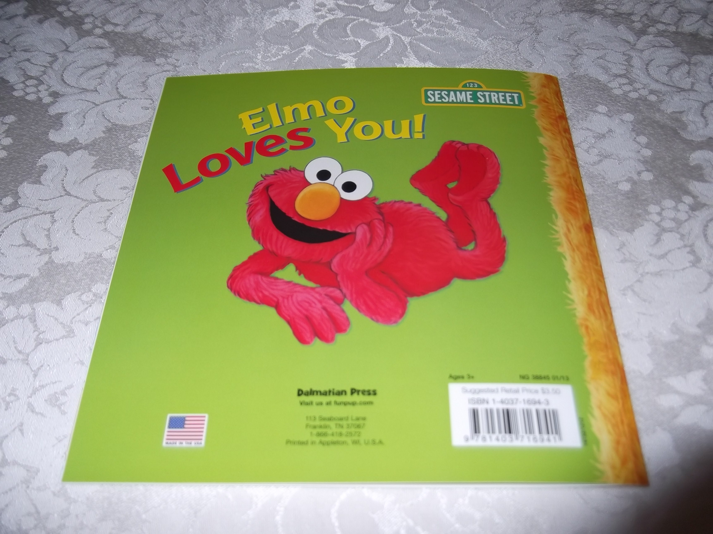 Image 9 of Elmo Loves You! A Poem by Elmo Sarah Albee Brand New Softcover