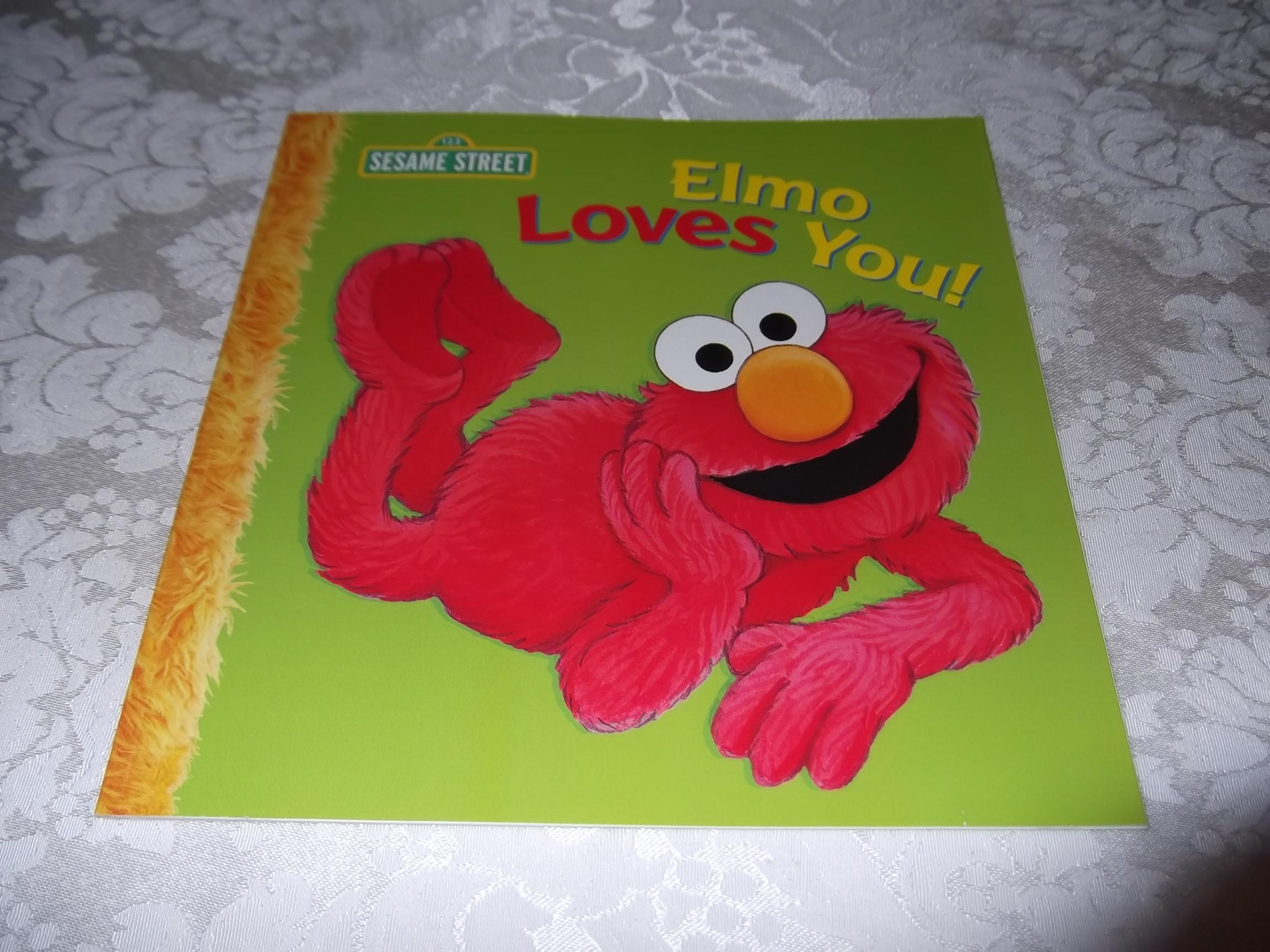 Elmo Loves You! A Poem by Elmo Sarah Albee Brand New Softcover