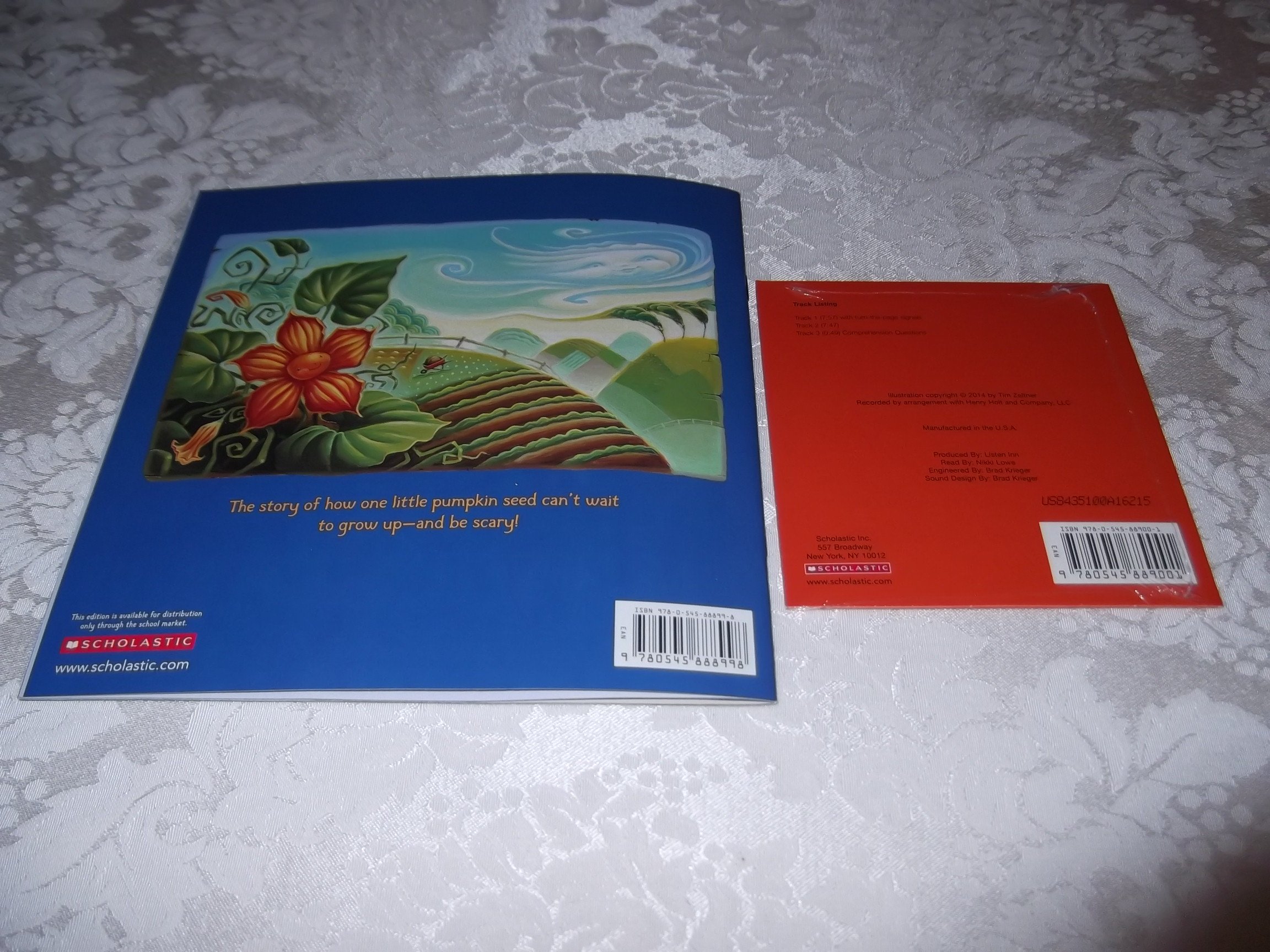 Image 9 of Little Boo Stephen Wunderli Audio CD & SC Brand New
