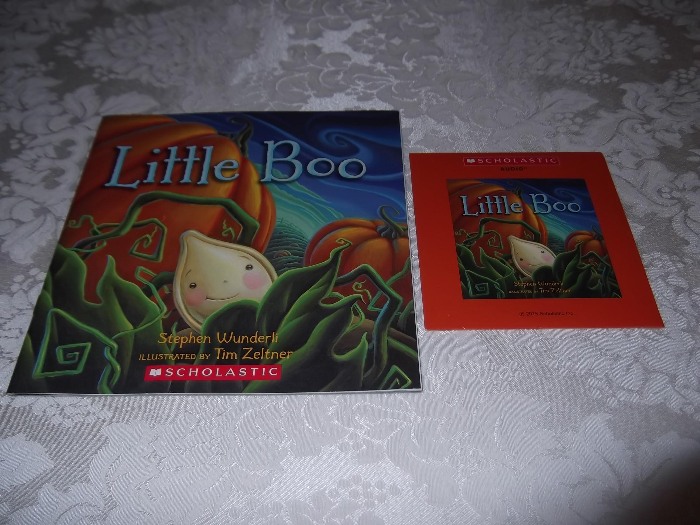 Little Boo Stephen Wunderli Audio CD & SC Brand New