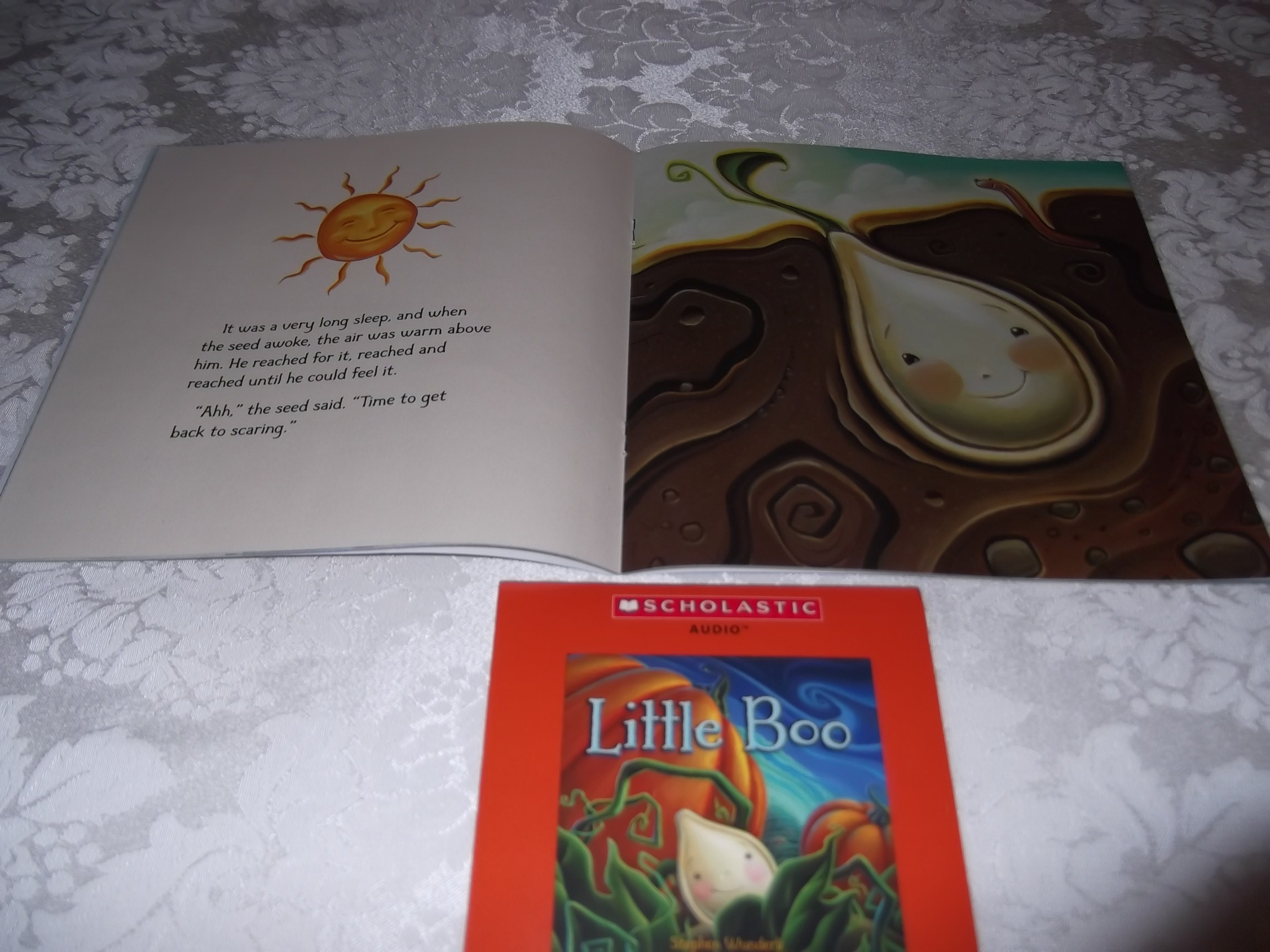 Image 1 of Little Boo Stephen Wunderli Audio CD & SC Brand New