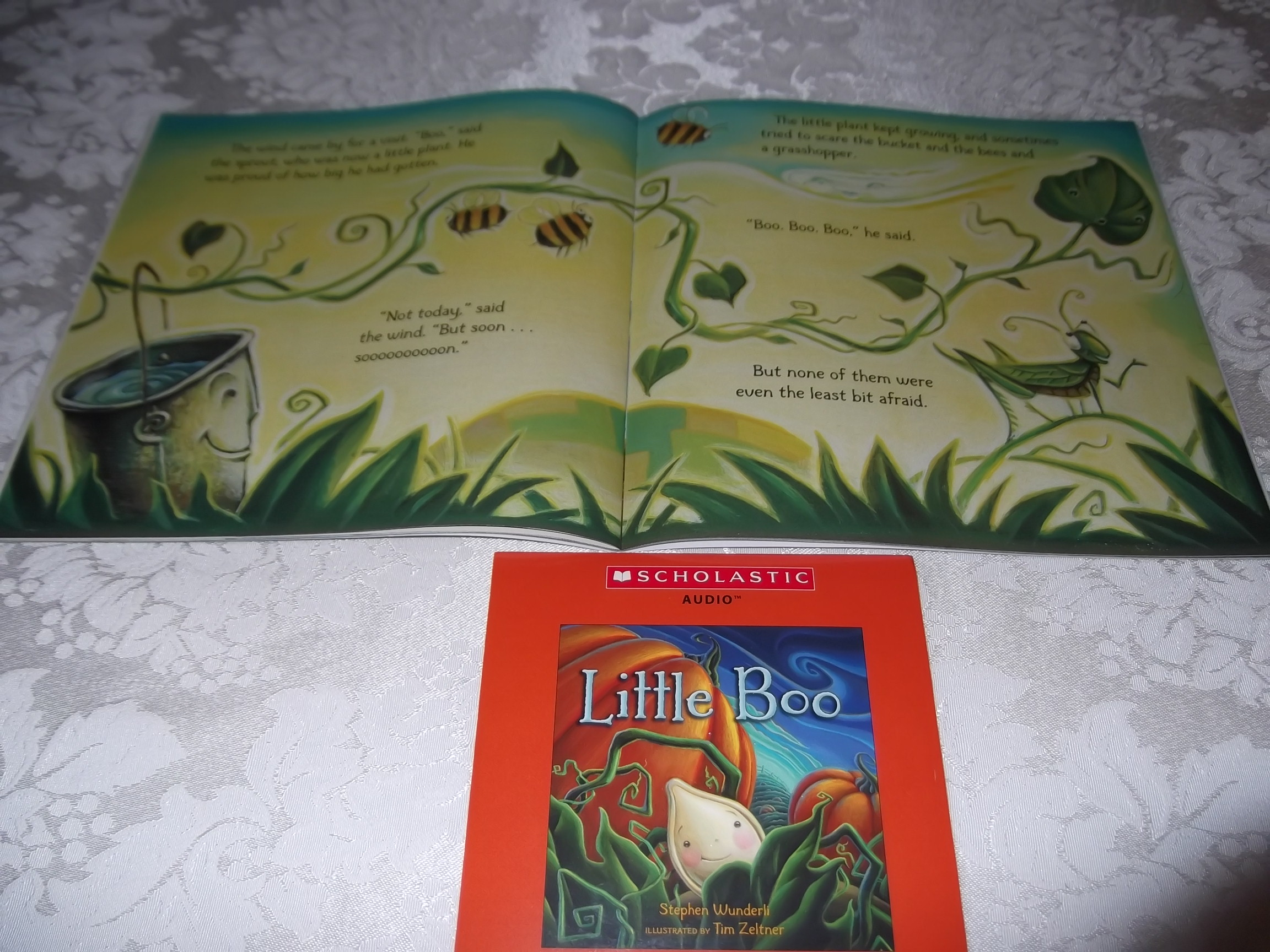 Image 2 of Little Boo Stephen Wunderli Audio CD & SC Brand New