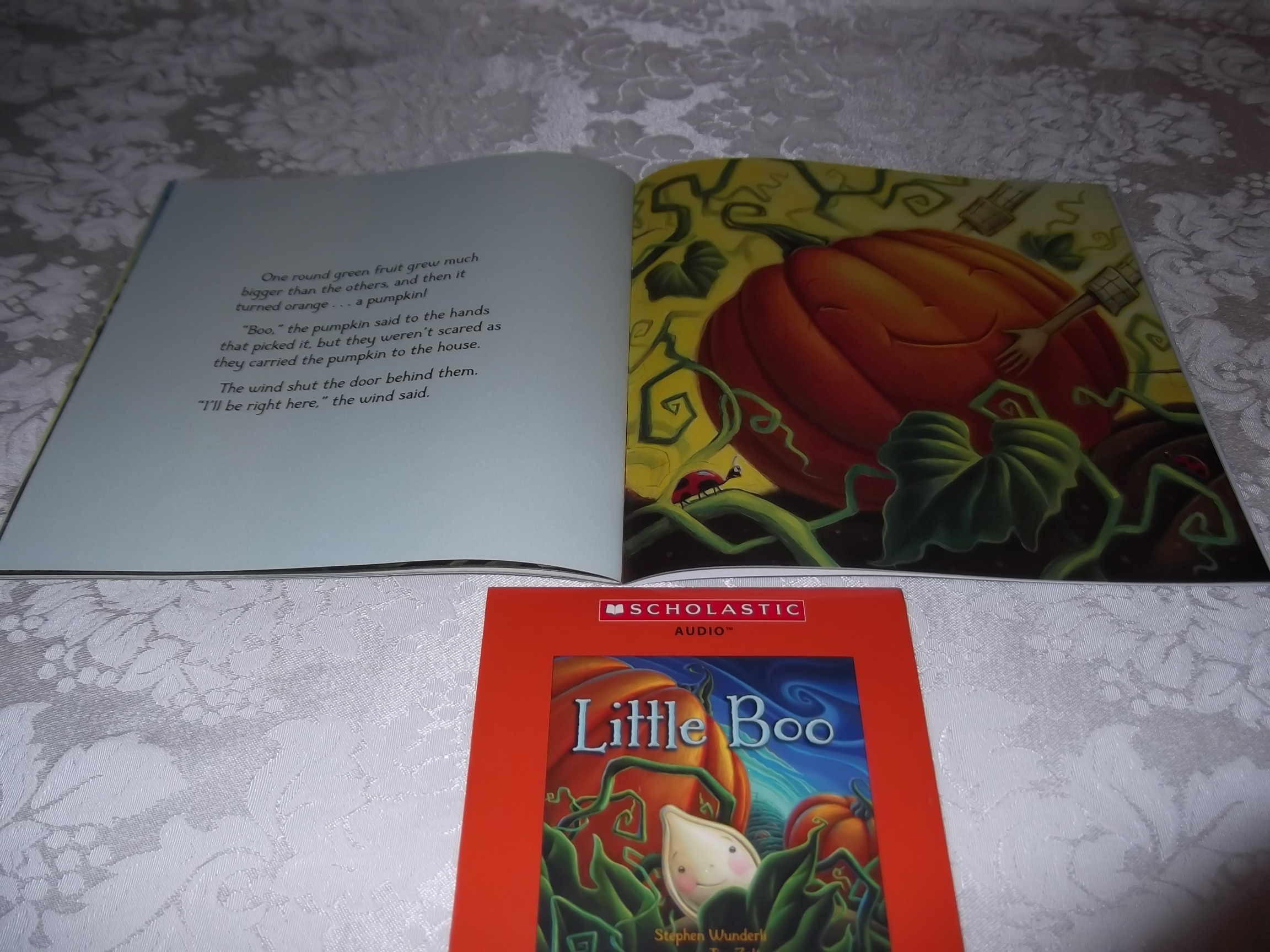 Image 4 of Little Boo Stephen Wunderli Audio CD & SC Brand New
