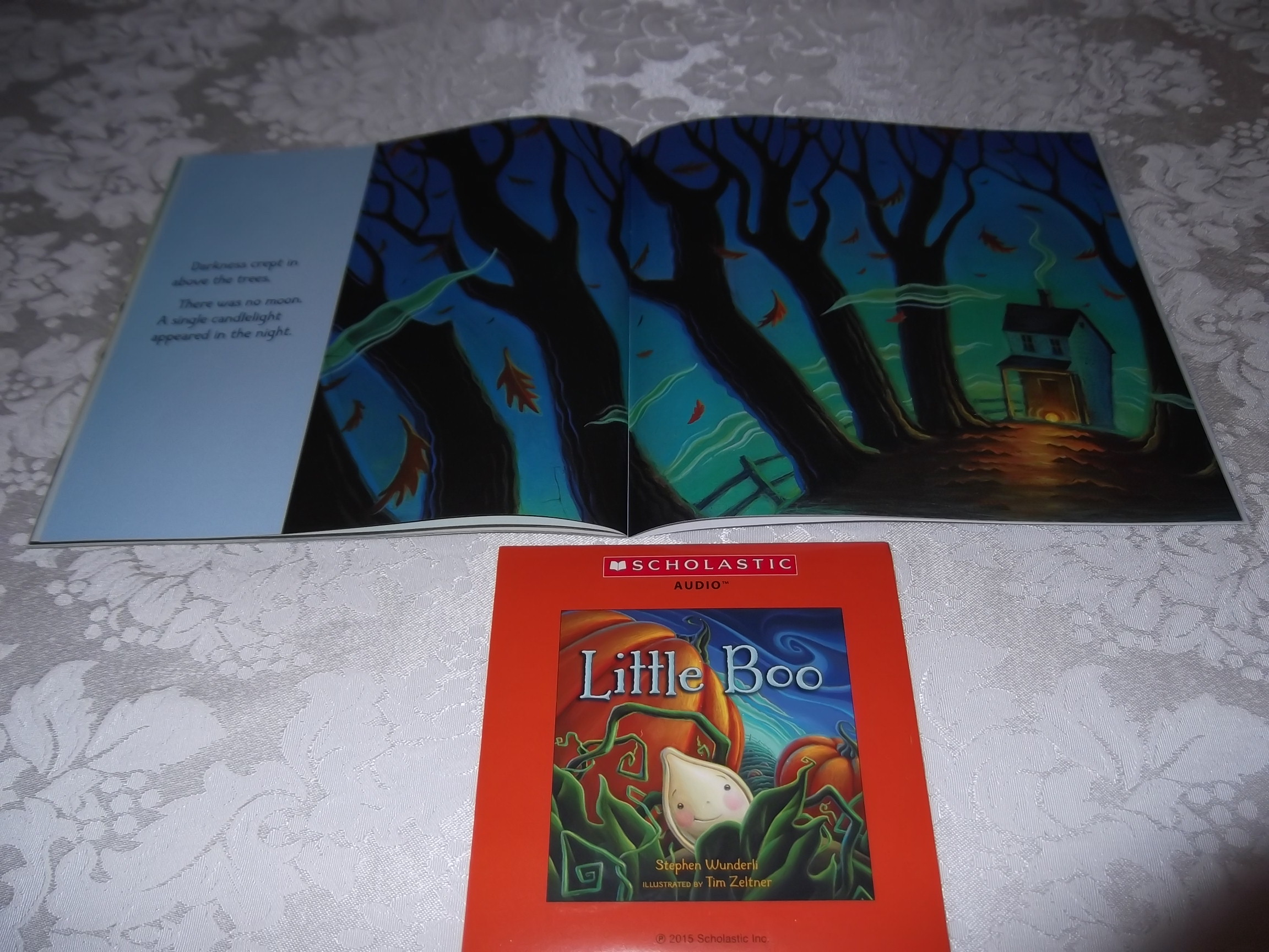 Image 5 of Little Boo Stephen Wunderli Audio CD & SC Brand New