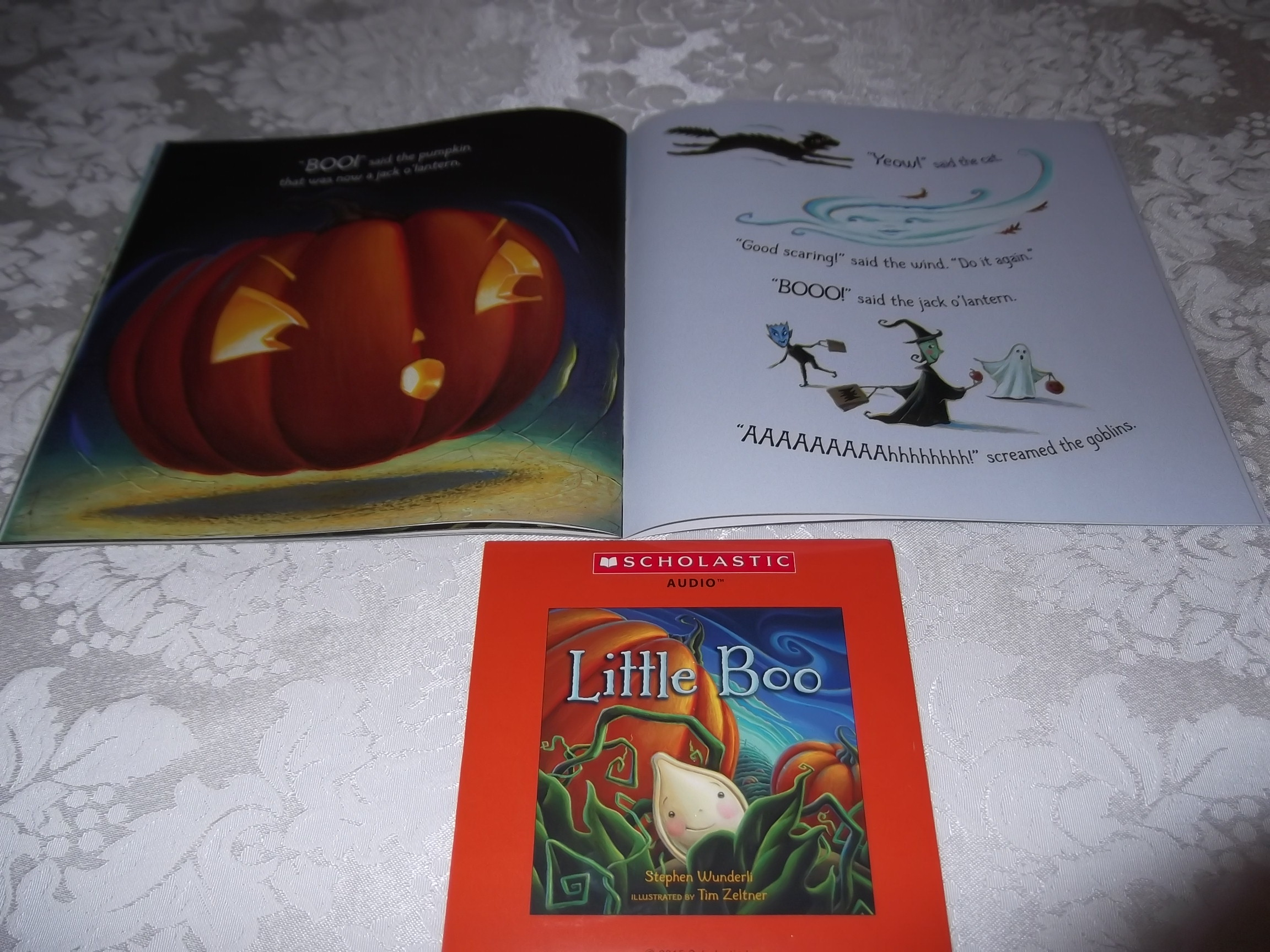 Image 6 of Little Boo Stephen Wunderli Audio CD & SC Brand New