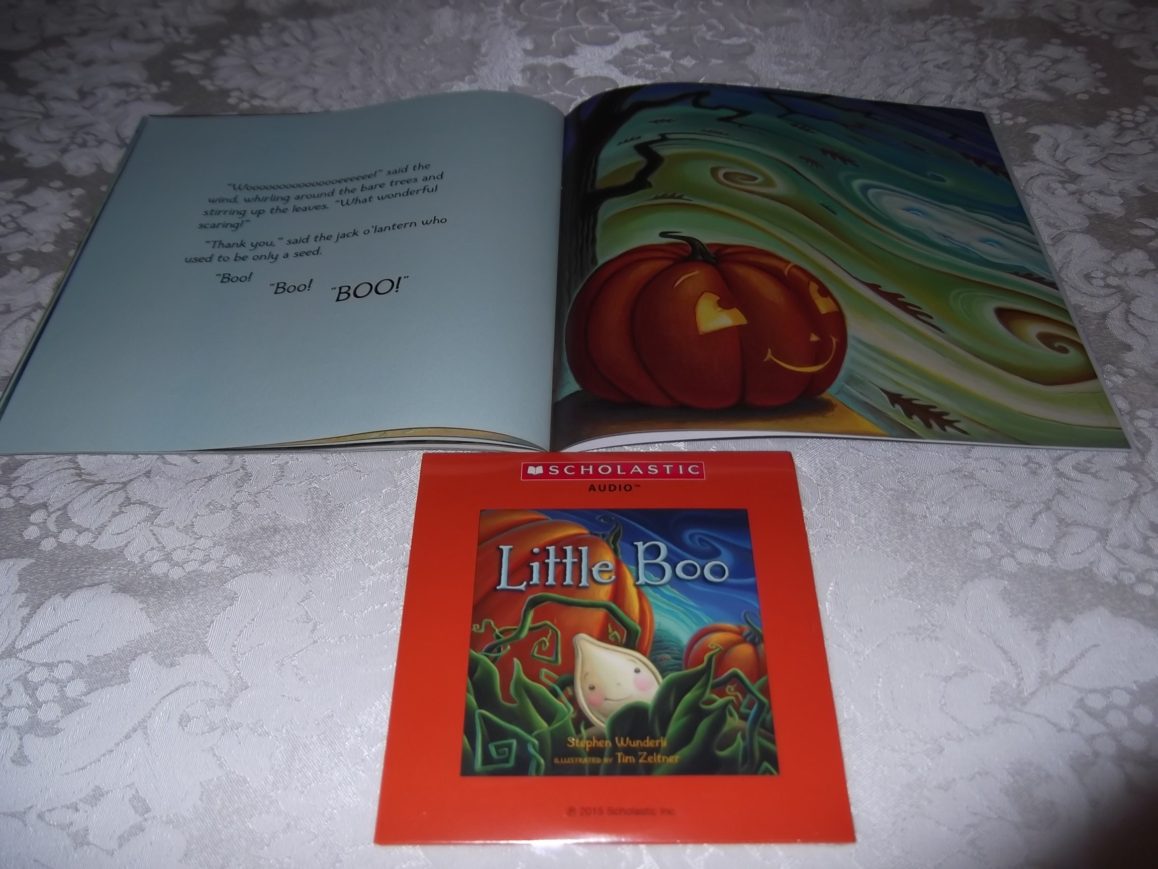 Image 7 of Little Boo Stephen Wunderli Audio CD & SC Brand New
