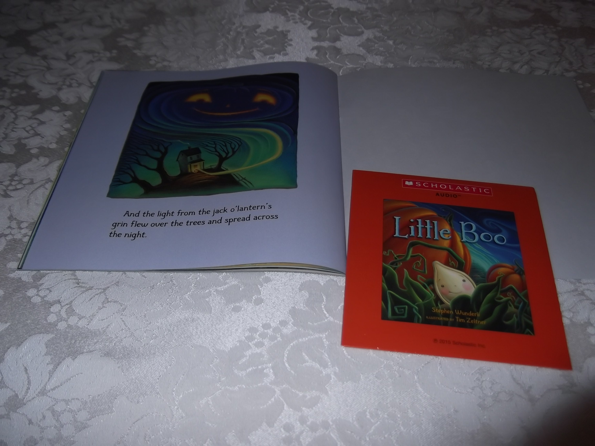 Image 8 of Little Boo Stephen Wunderli Audio CD & SC Brand New