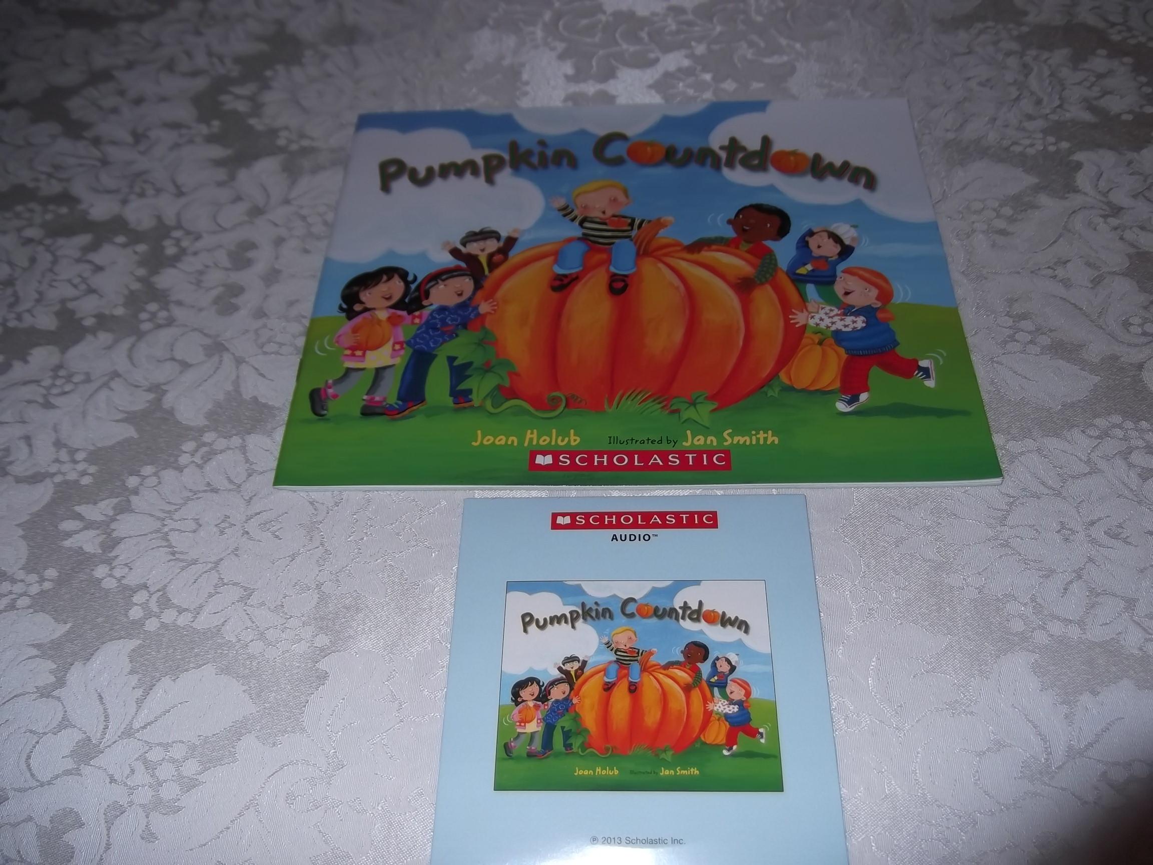 Pumpkin Countdown Joan Holub Audio CD & SC Set Brand New