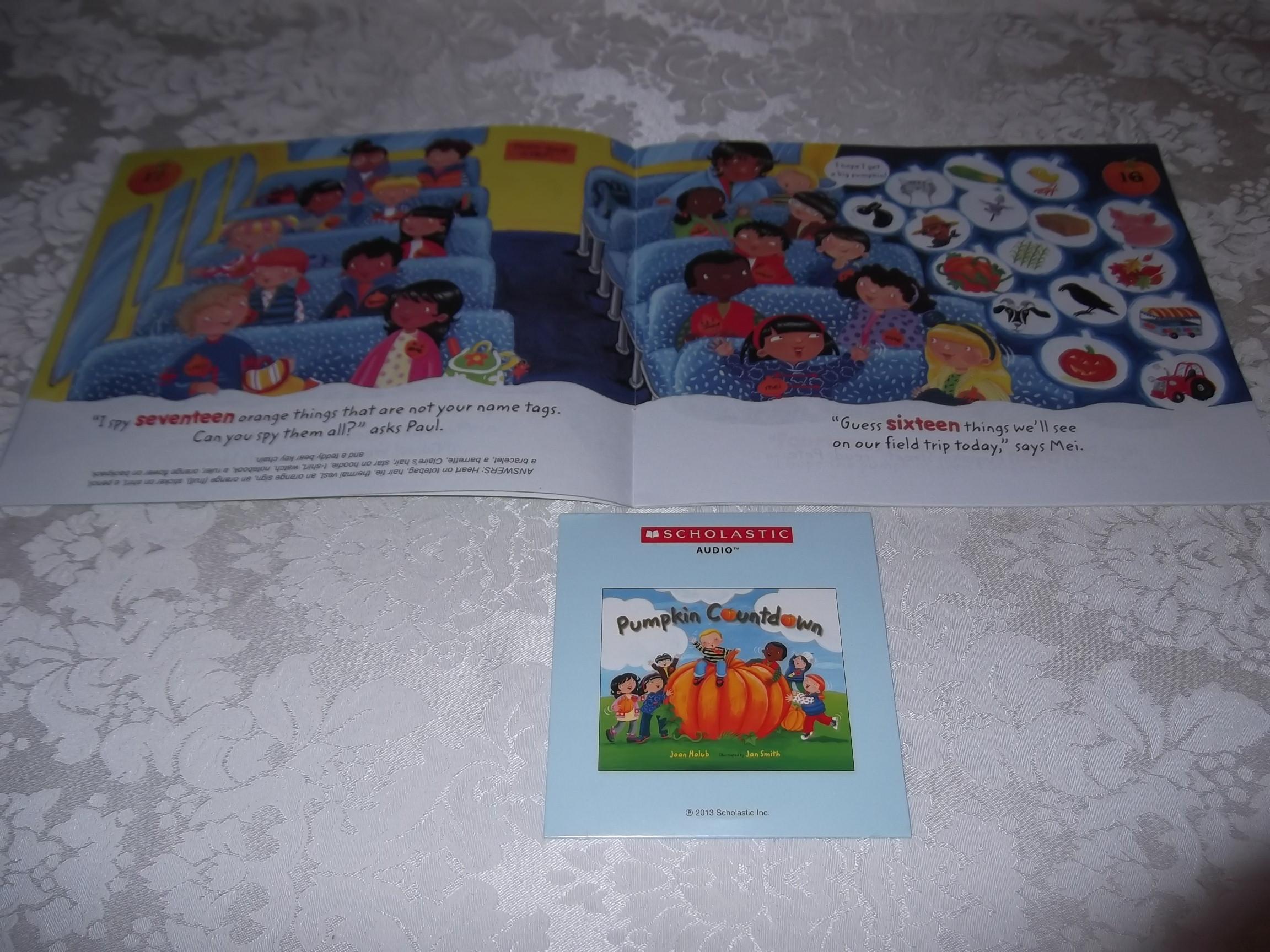 Image 2 of Pumpkin Countdown Joan Holub Audio CD & SC Set Brand New
