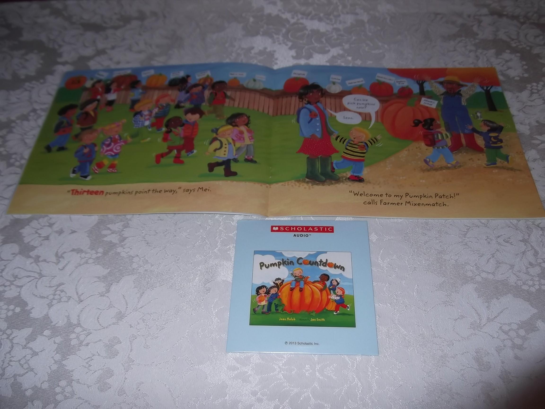 Image 3 of Pumpkin Countdown Joan Holub Audio CD & SC Set Brand New