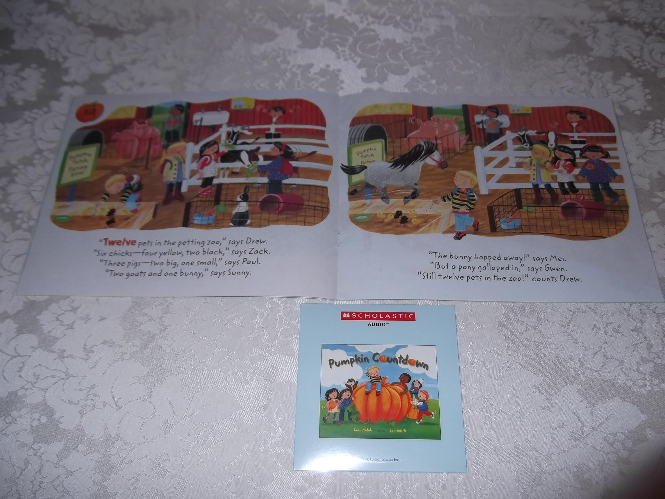 Image 4 of Pumpkin Countdown Joan Holub Audio CD & SC Set Brand New