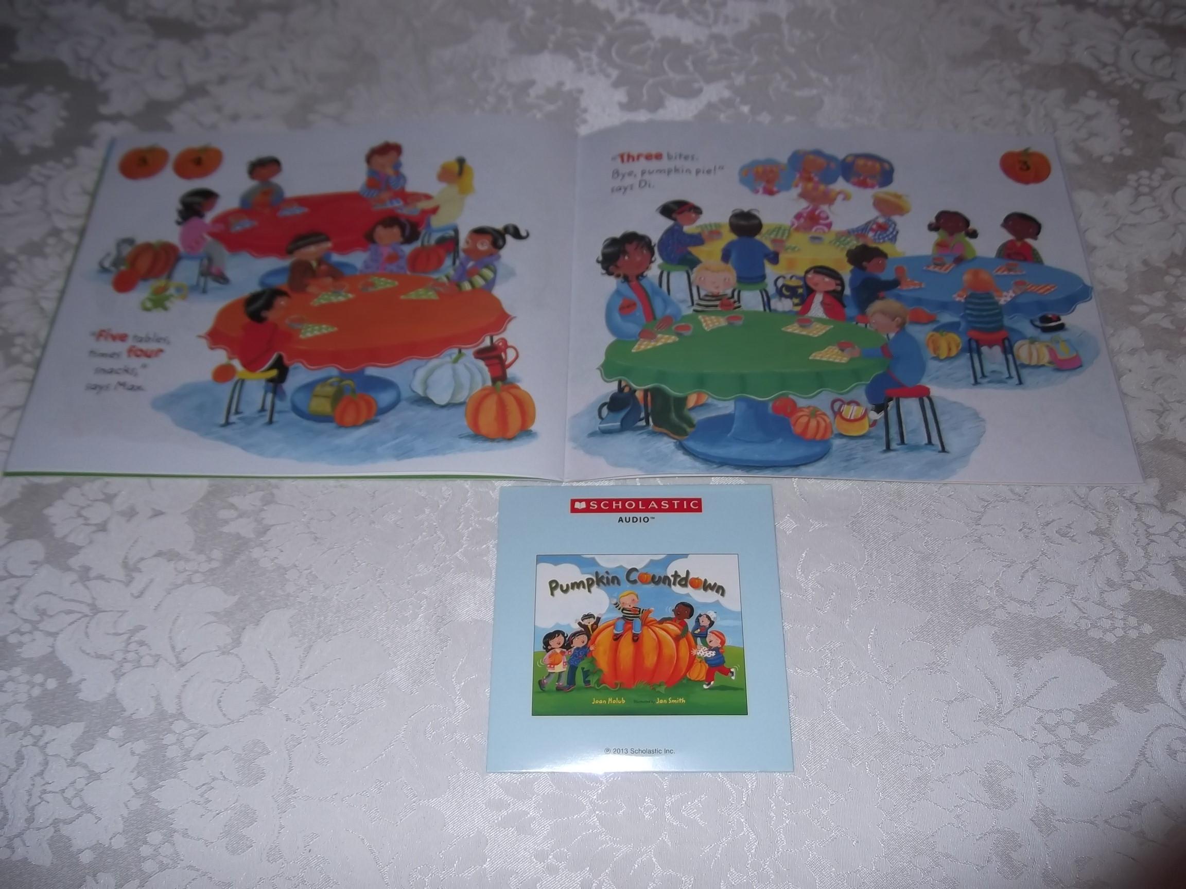 Image 7 of Pumpkin Countdown Joan Holub Audio CD & SC Set Brand New