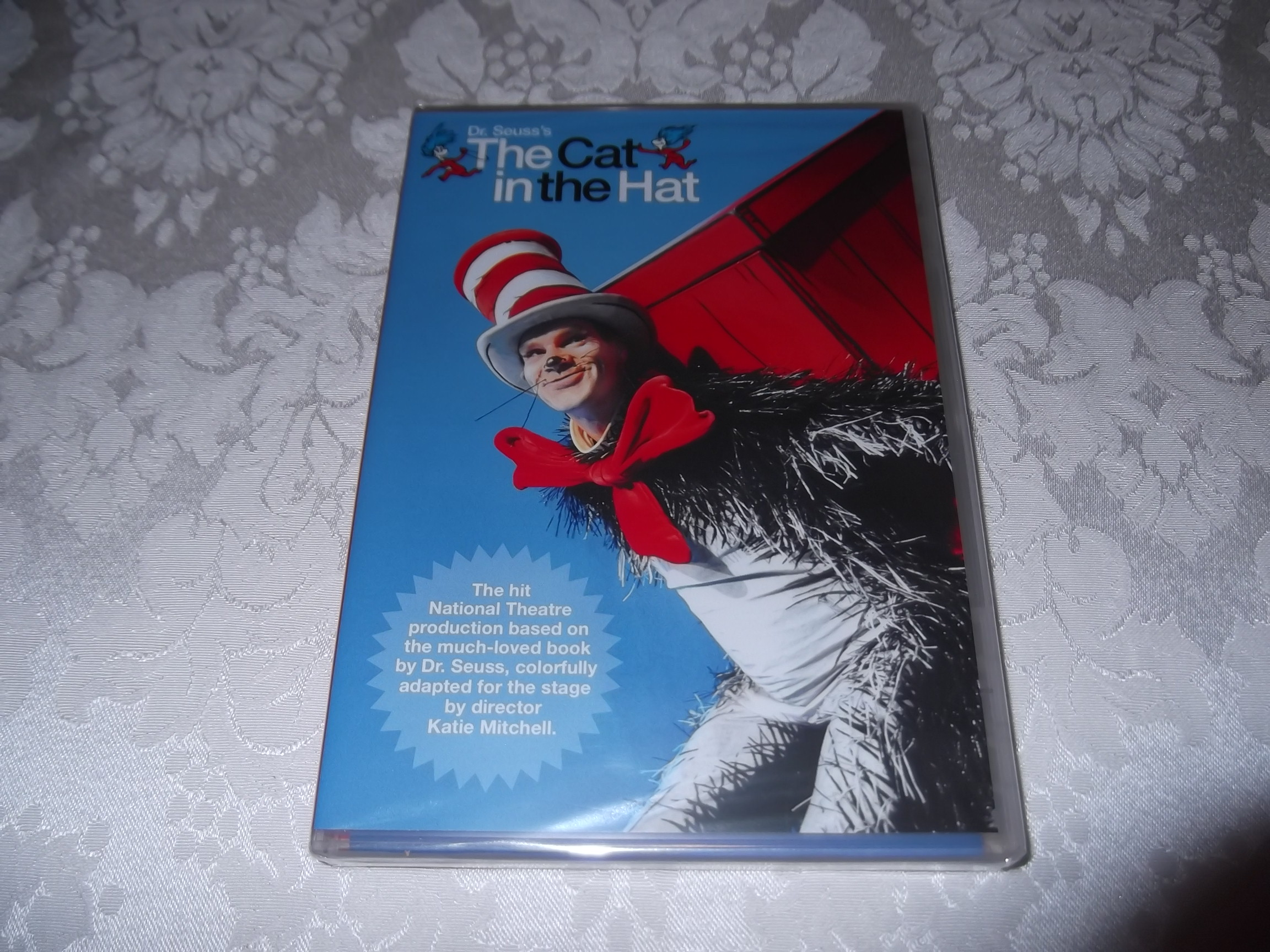 Dr. Seuss's The Cat in the Hat National Theatre DVD Katie Mitchell Brand New