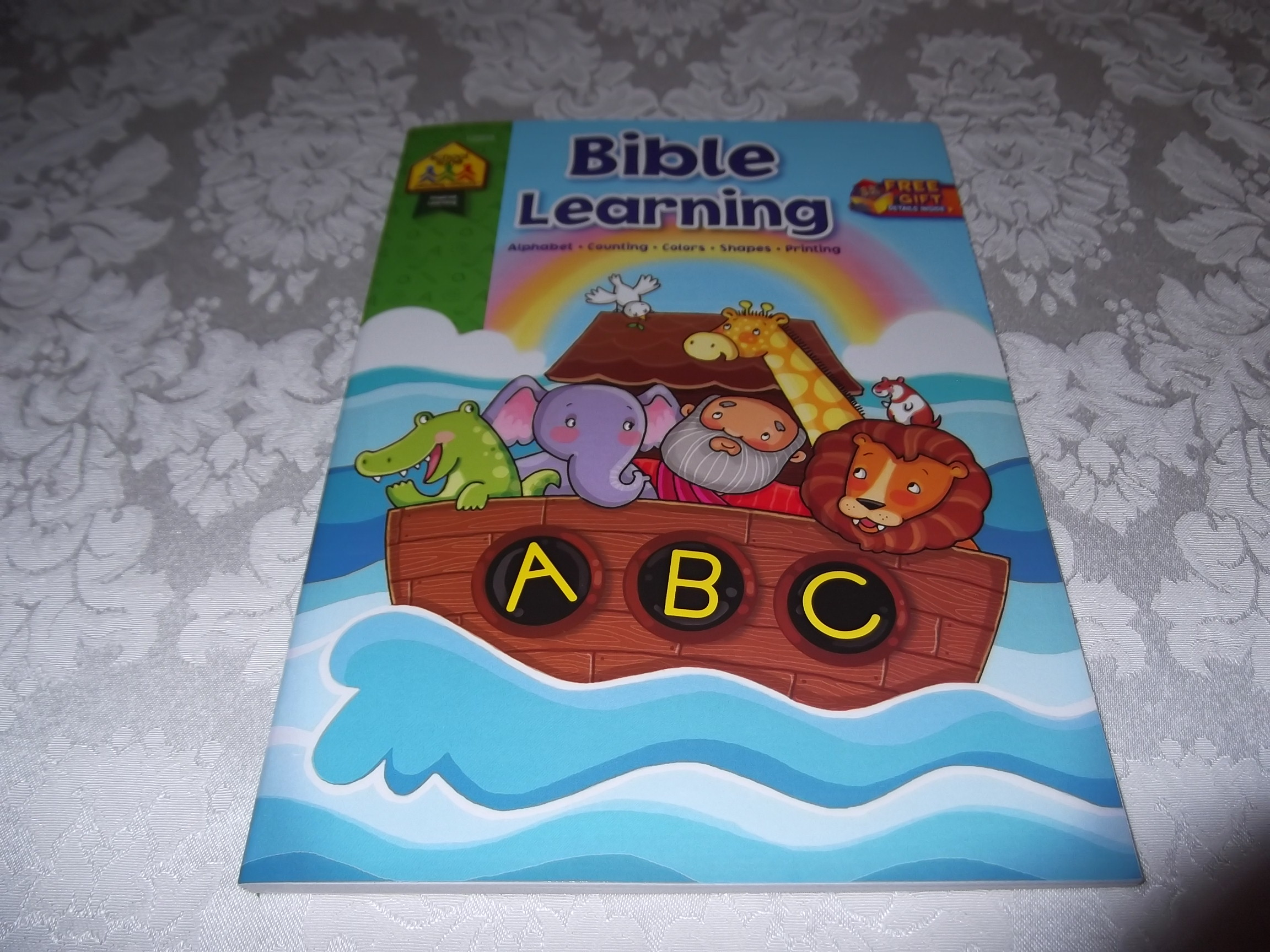 Bible Learning School Zone Publishing ABCs Numbers Colors Shapes
