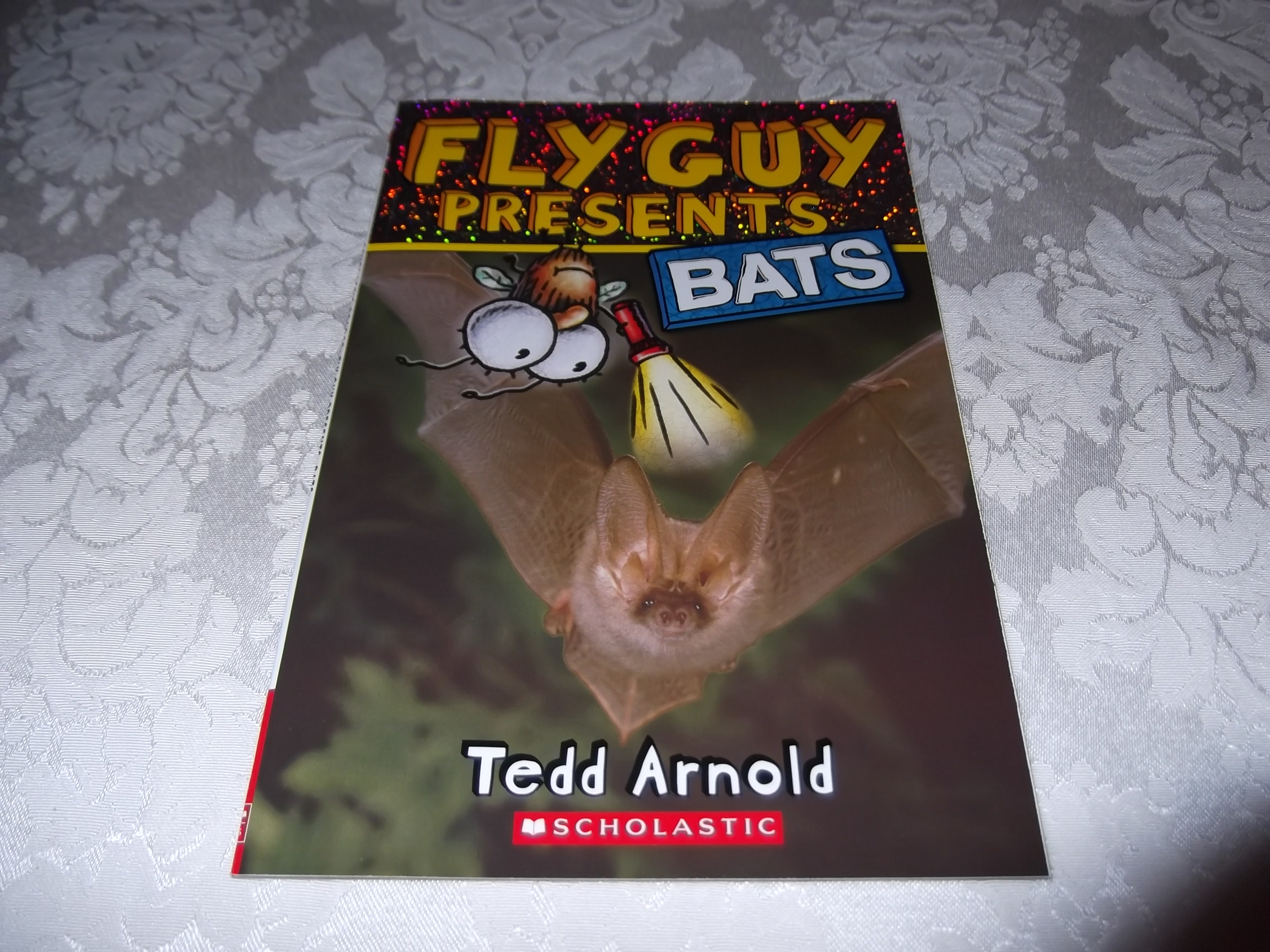 Fly Guy Presents Bats Tedd Arnold Brand New Softcover
