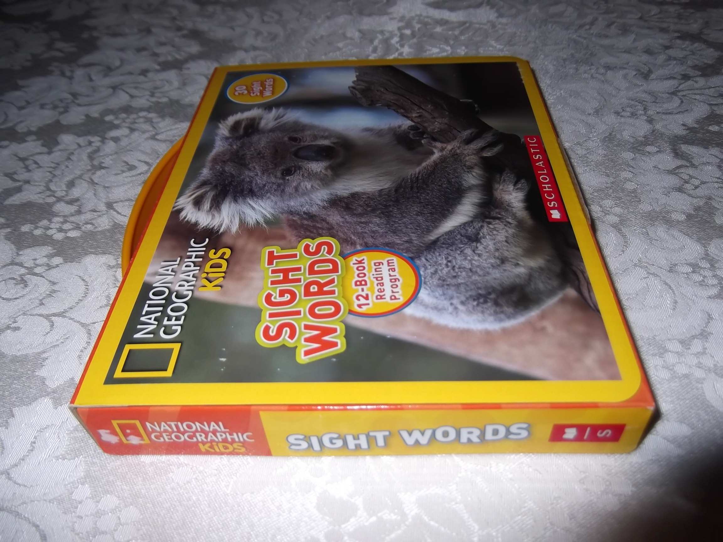 Image 2 of National Geographic Kids Sight Words 12 Book Reader Lot Boxed Set #2