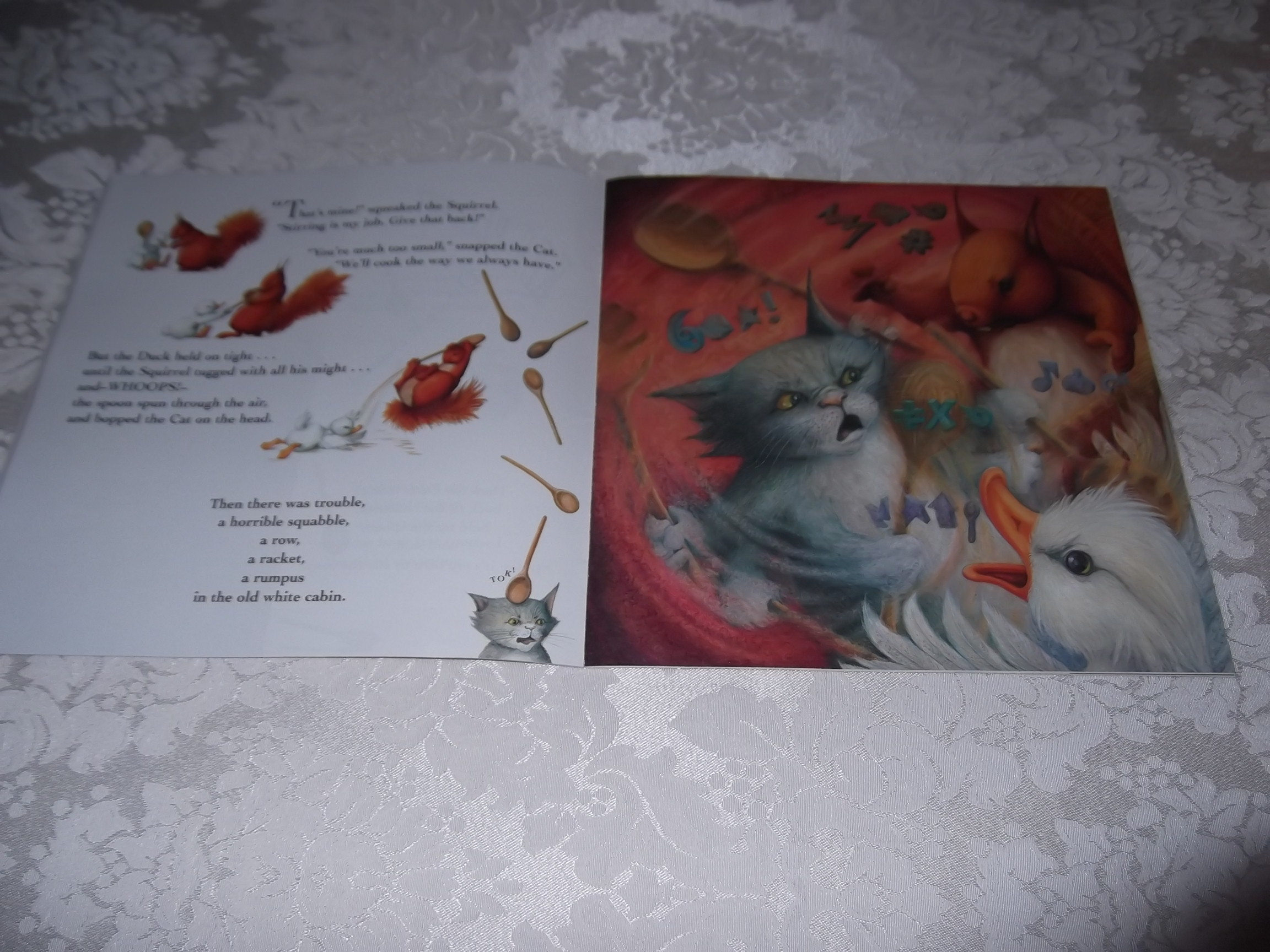 Image 3 of Pumpkin Soup Helen Cooper Brand New Softcover