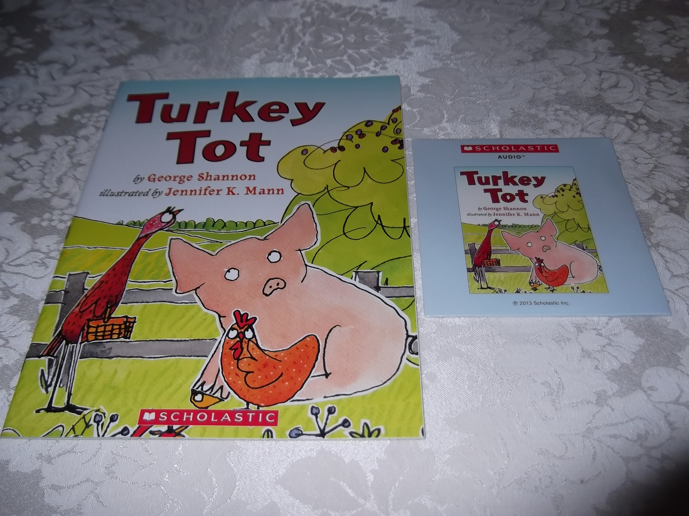 Turkey Tot George Shannon Brand New Audio CD and SC