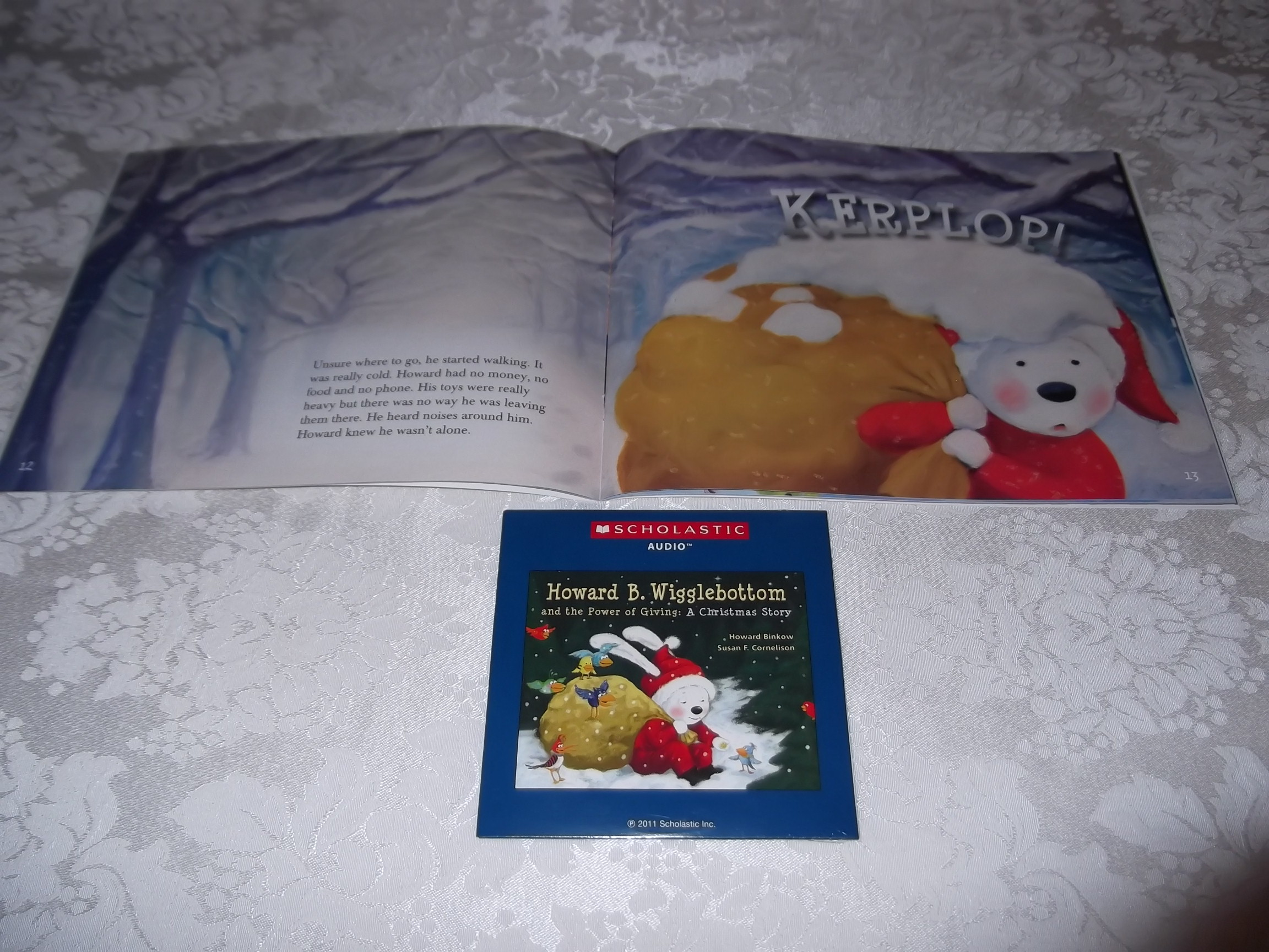 Image 8 of Howard B. Wigglebottom and the Power of Giving: A Christmas Story Audio CD & SC