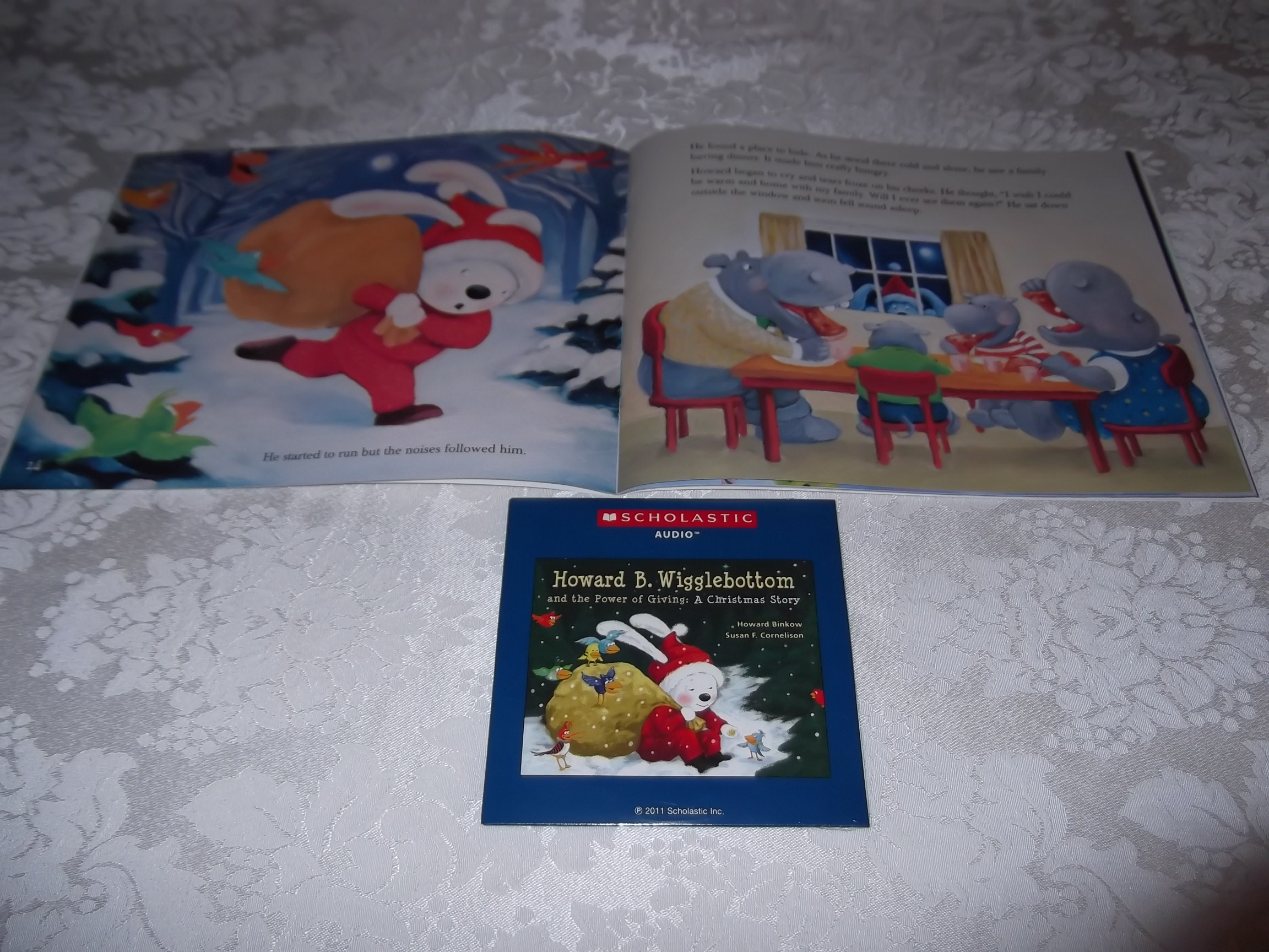 Image 7 of Howard B. Wigglebottom and the Power of Giving: A Christmas Story Audio CD & SC