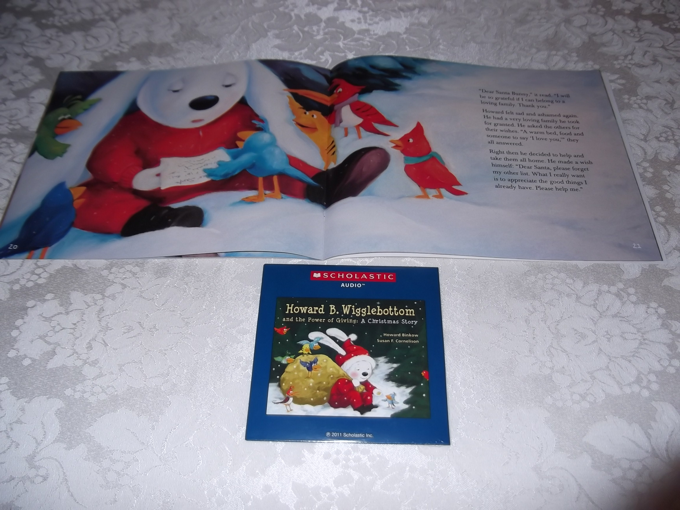 Image 5 of Howard B. Wigglebottom and the Power of Giving: A Christmas Story Audio CD & SC