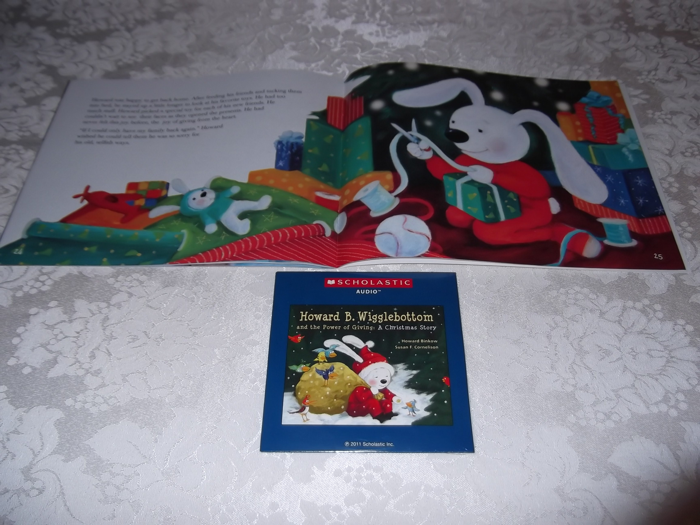 Image 4 of Howard B. Wigglebottom and the Power of Giving: A Christmas Story Audio CD & SC