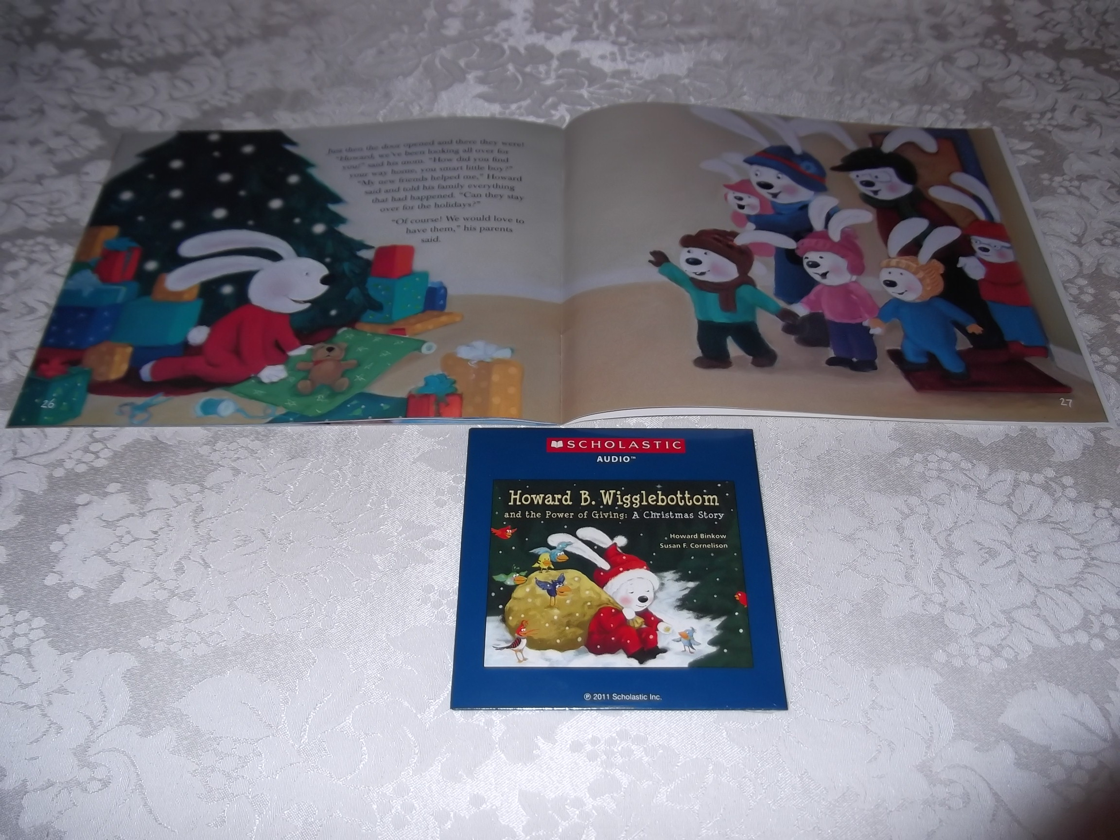 Image 3 of Howard B. Wigglebottom and the Power of Giving: A Christmas Story Audio CD & SC