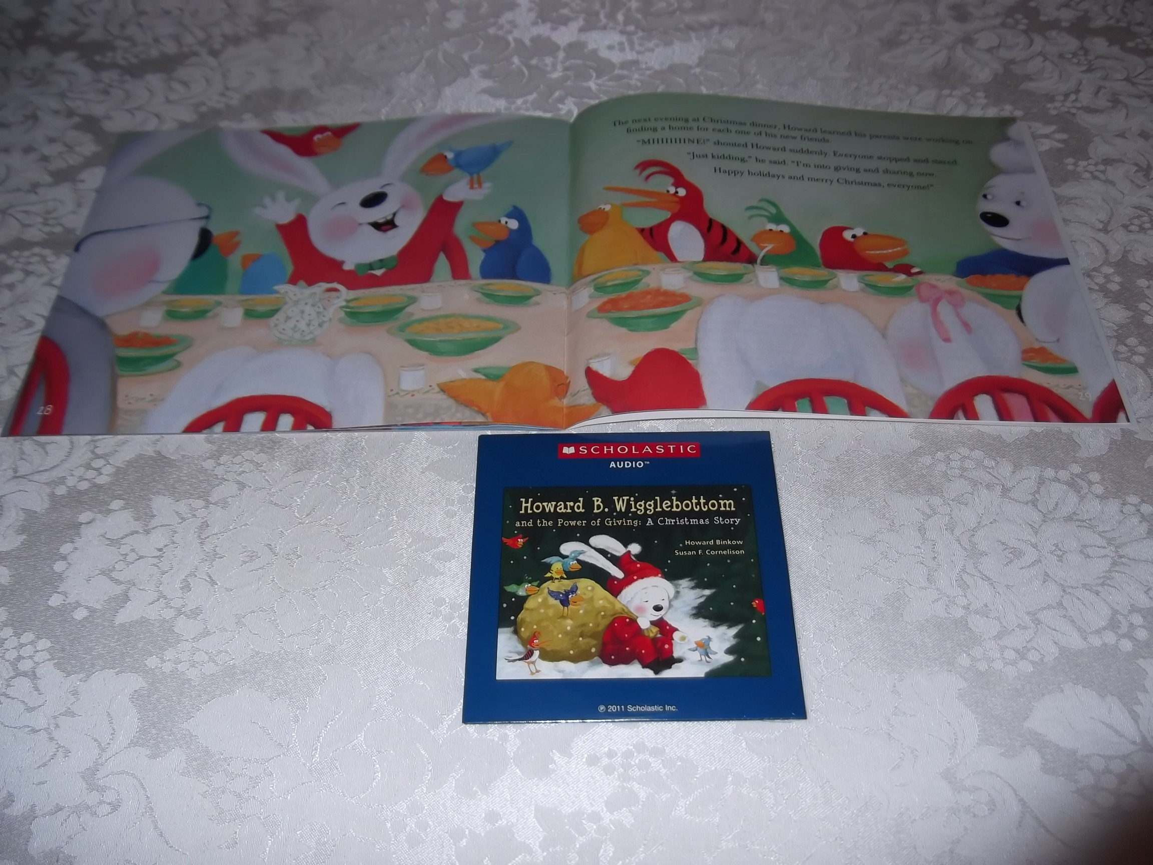 Image 2 of Howard B. Wigglebottom and the Power of Giving: A Christmas Story Audio CD & SC