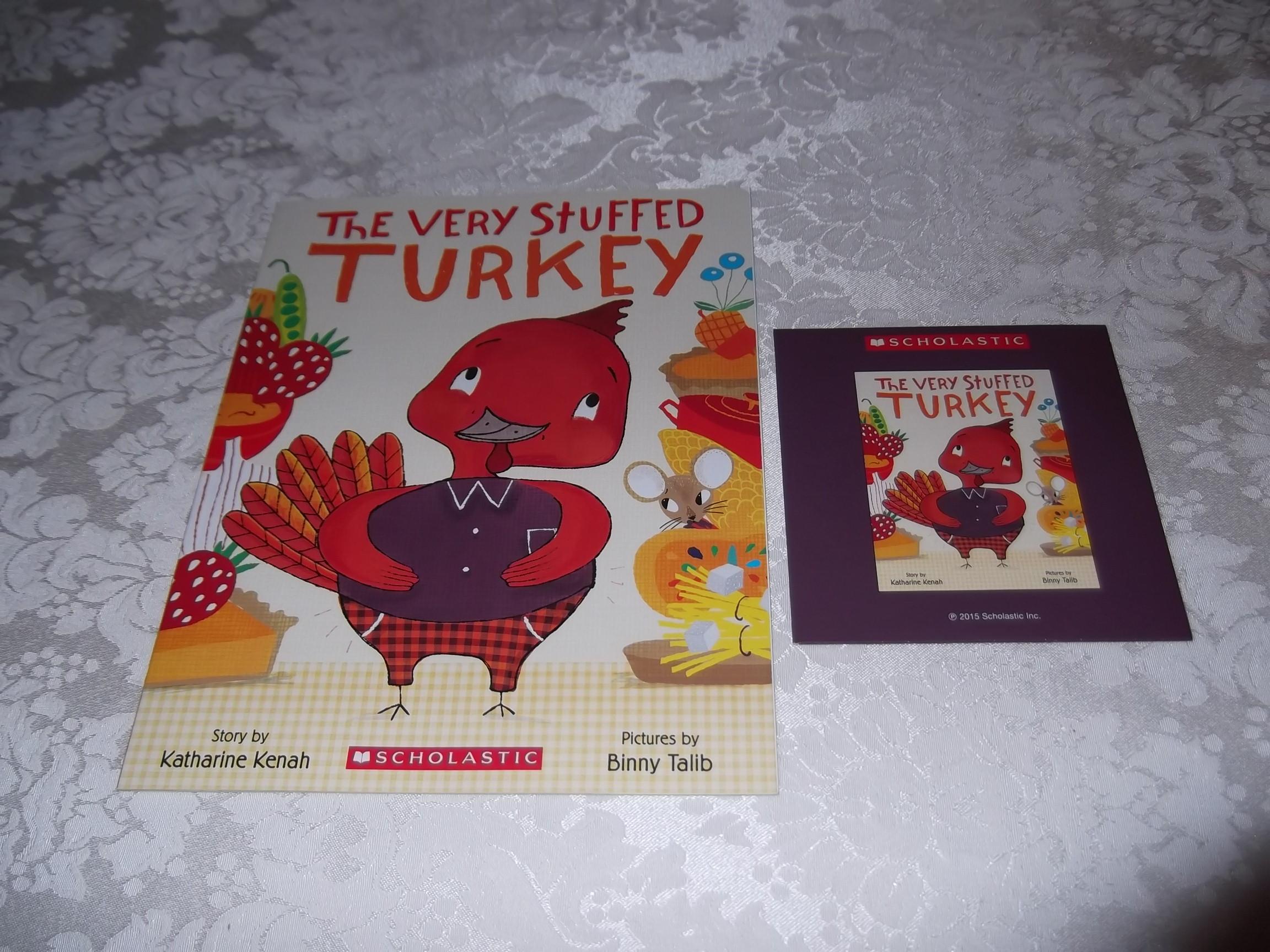 The Very Stuffed Turkey Katharine Kenah Audio CD and SC Brand New