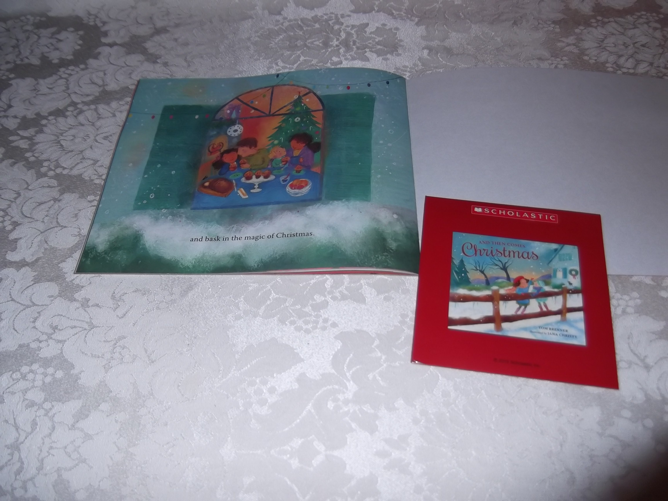 Image 1 of And Then Comes Christmas Tom Brenner Audio CD and SC Brand New