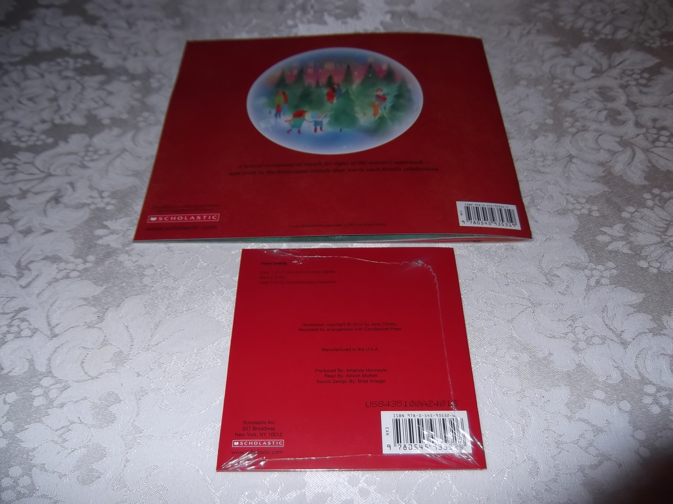 Image 10 of And Then Comes Christmas Tom Brenner Audio CD and SC Brand New