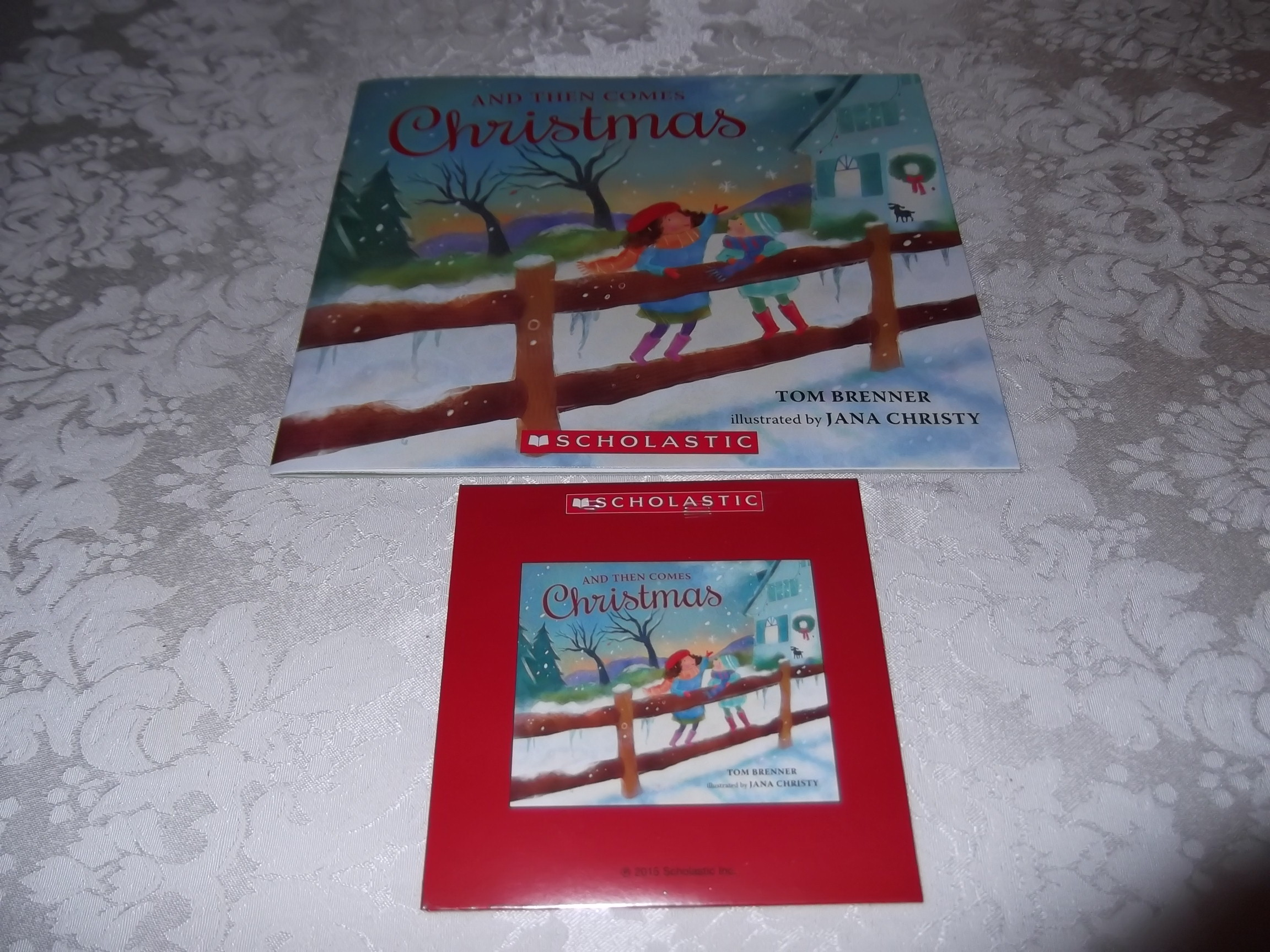 And Then Comes Christmas Tom Brenner Audio CD and SC Brand New