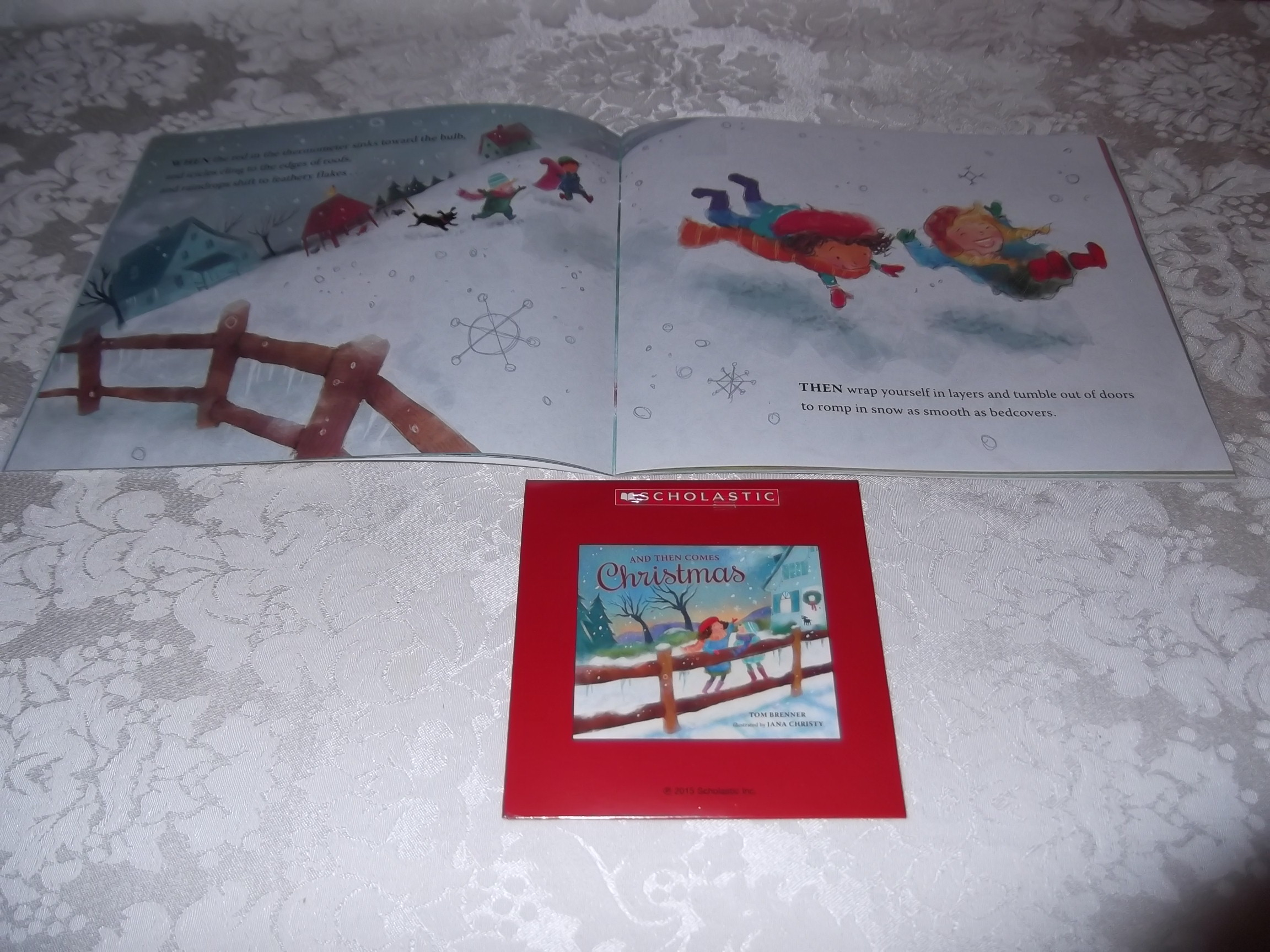 Image 7 of And Then Comes Christmas Tom Brenner Audio CD and SC Brand New