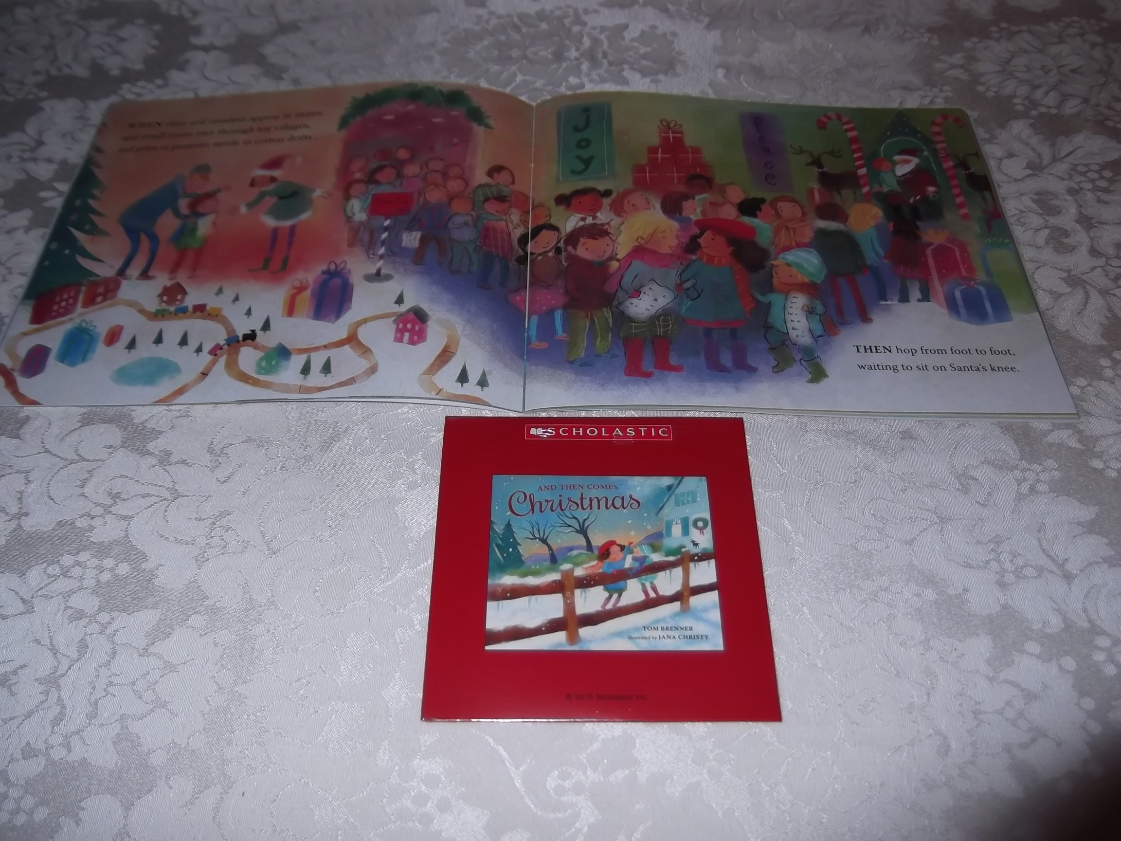 Image 6 of And Then Comes Christmas Tom Brenner Audio CD and SC Brand New