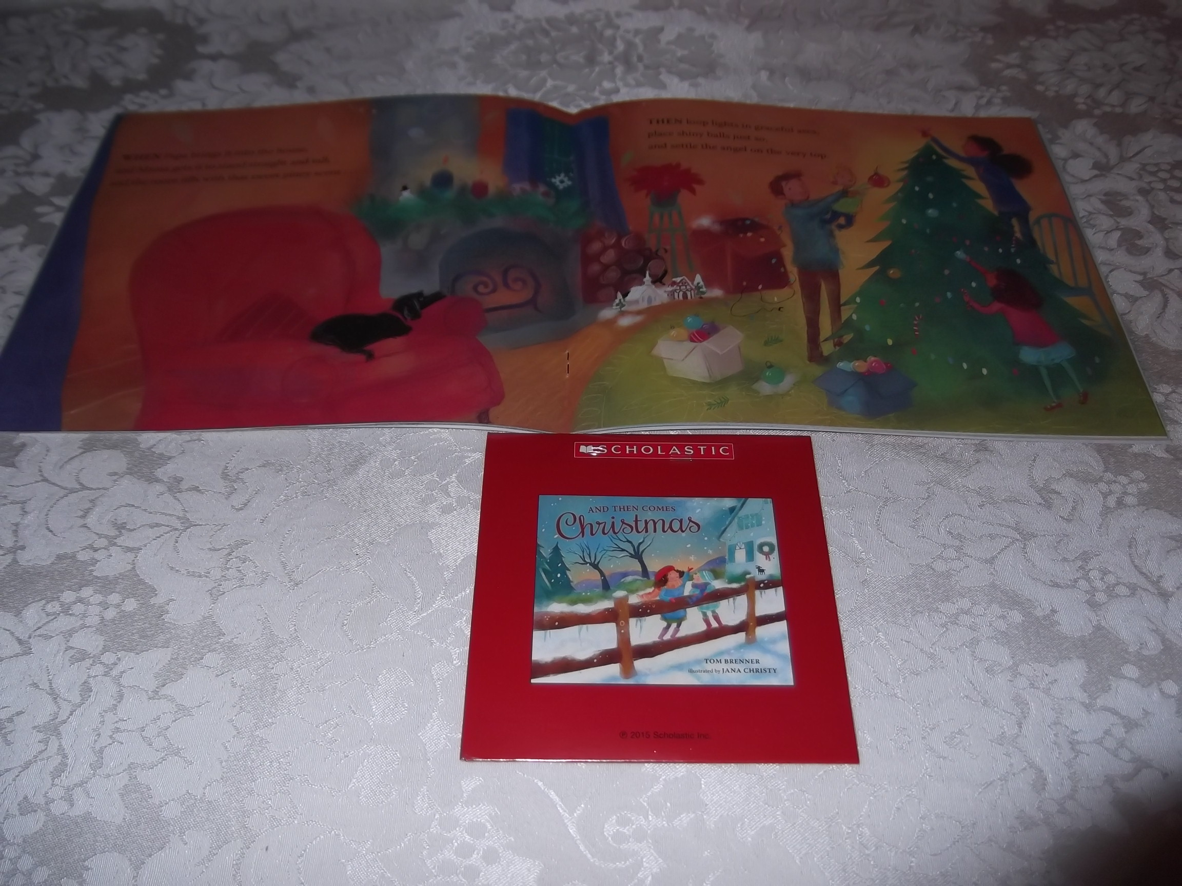 Image 5 of And Then Comes Christmas Tom Brenner Audio CD and SC Brand New