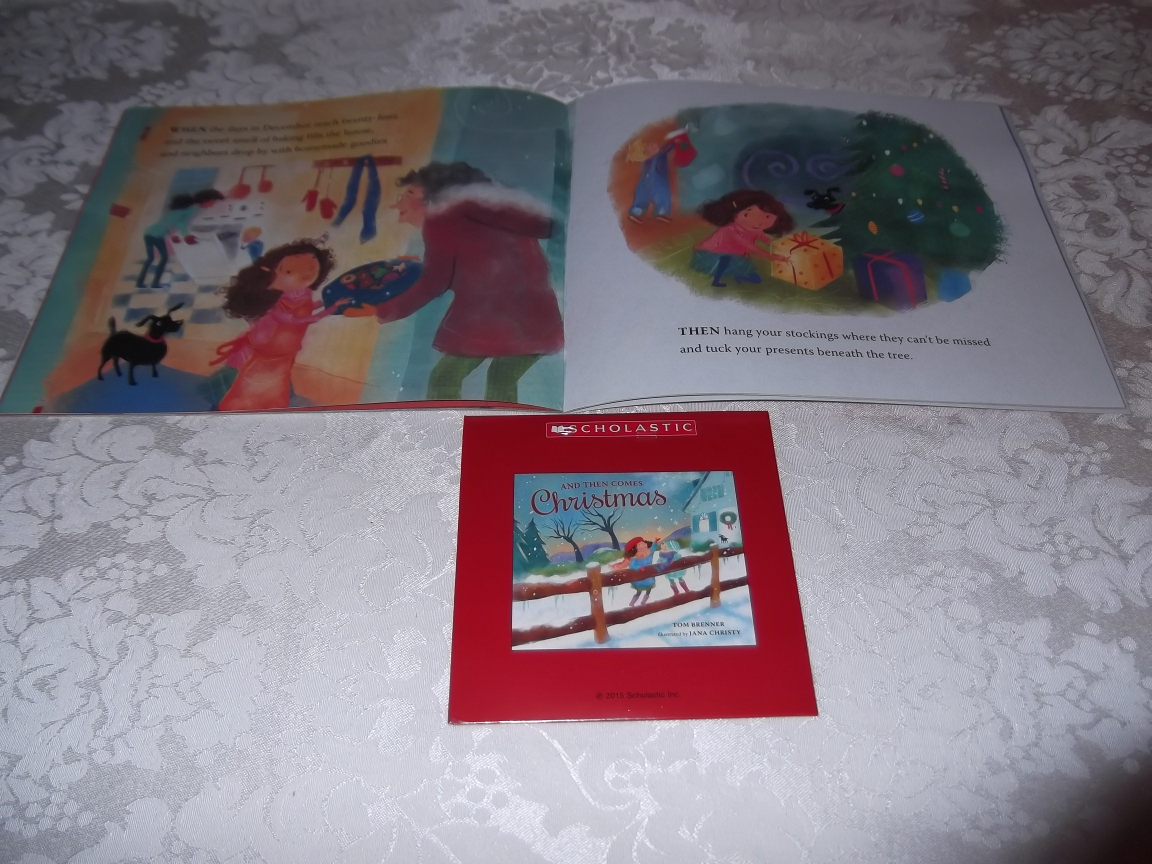 Image 4 of And Then Comes Christmas Tom Brenner Audio CD and SC Brand New