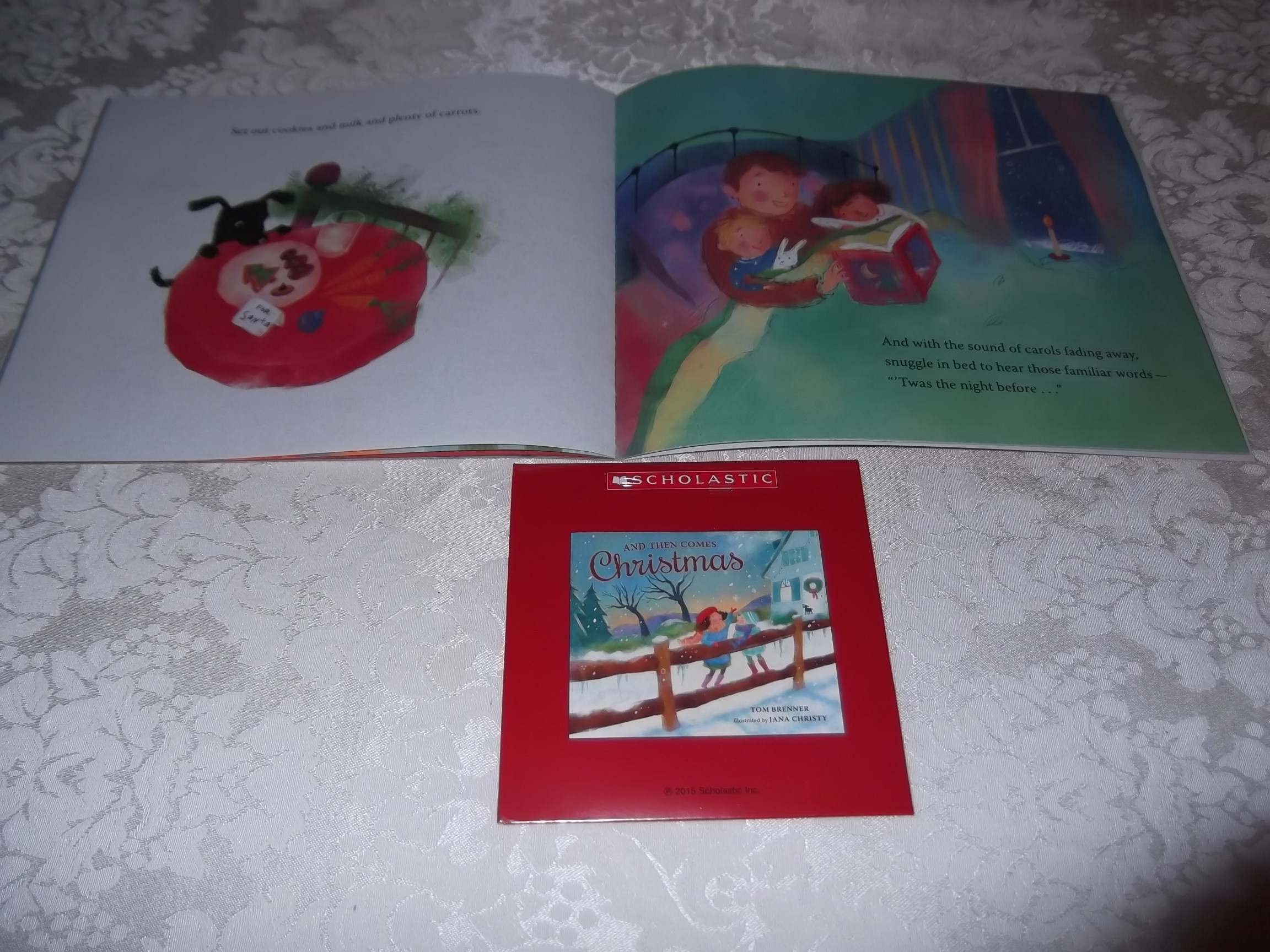 Image 3 of And Then Comes Christmas Tom Brenner Audio CD and SC Brand New