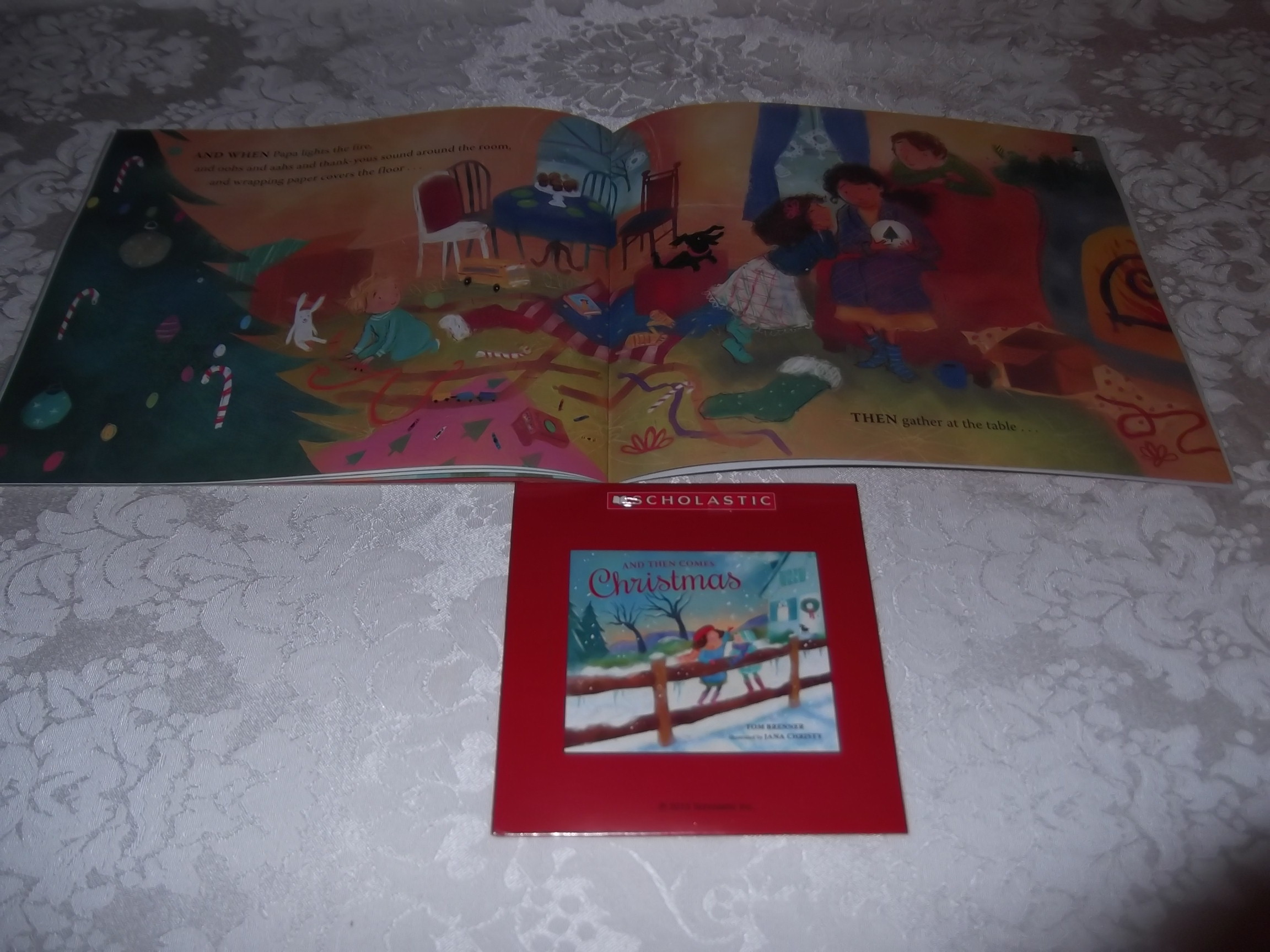 Image 2 of And Then Comes Christmas Tom Brenner Audio CD and SC Brand New