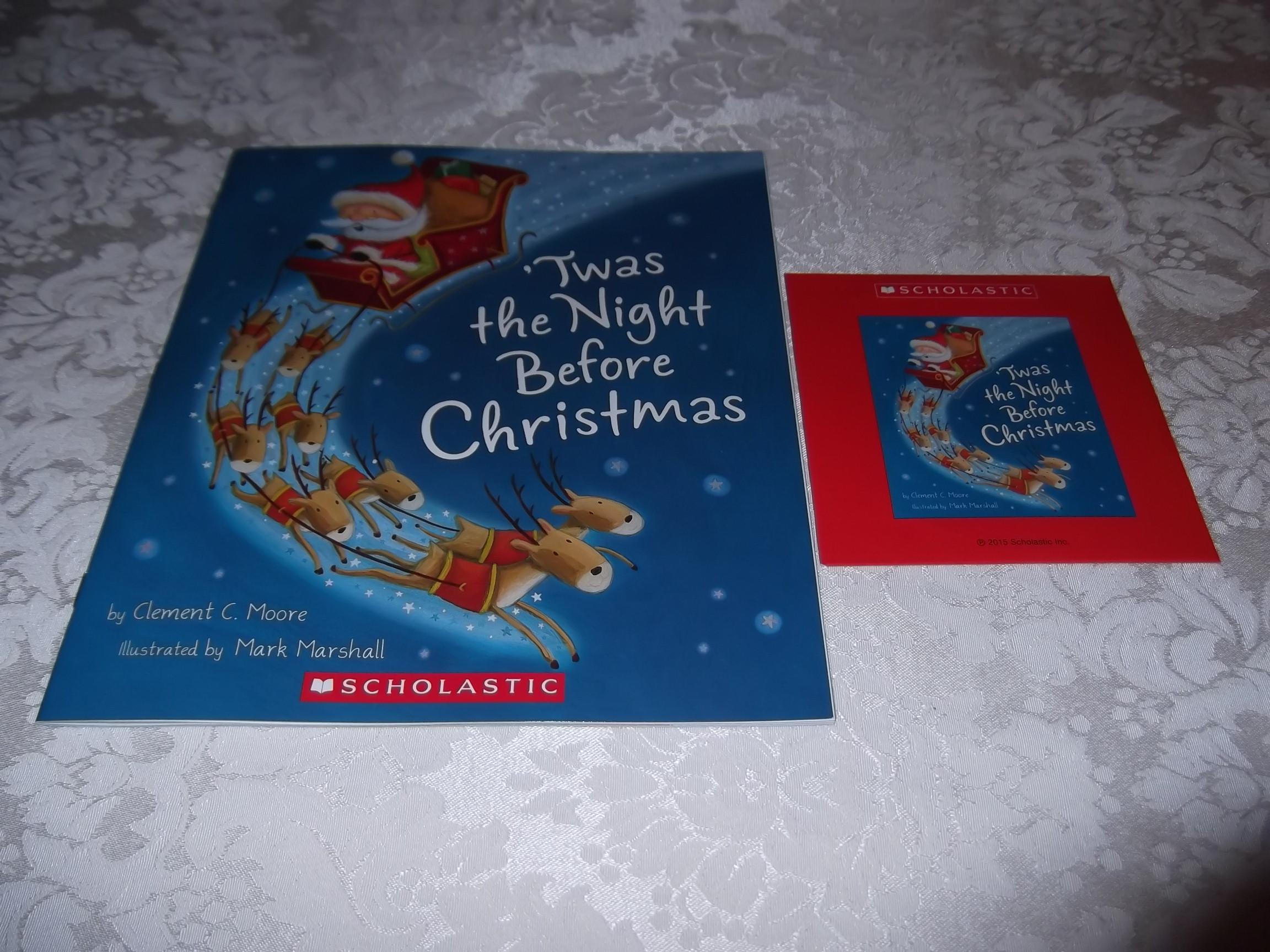 'Twas the Night Before Christmas C. Moore Mark Marshall Audio CD & SC Brand New