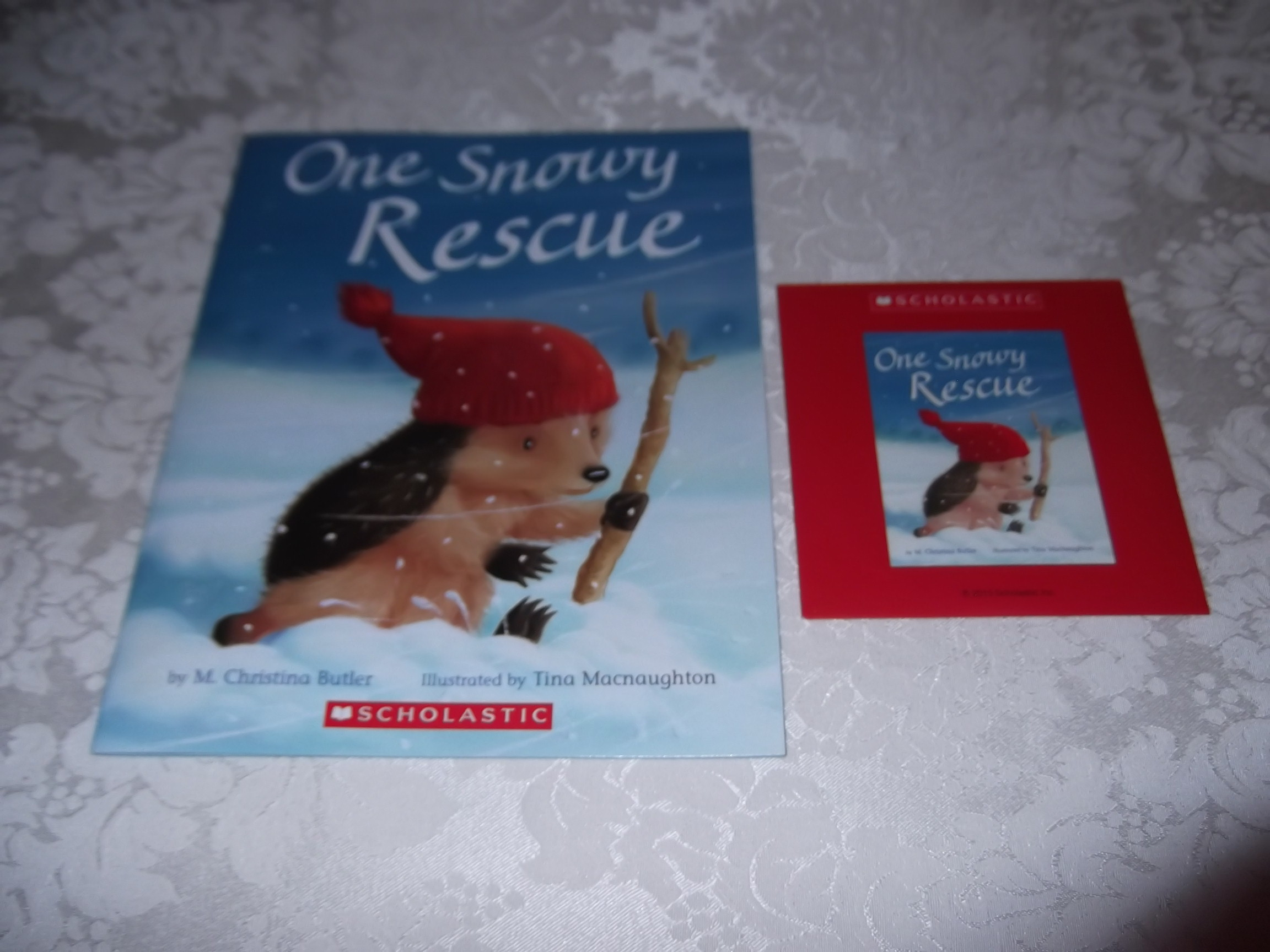 One Snowy Rescue M. Christina Butler Audio CD & SC Brand New