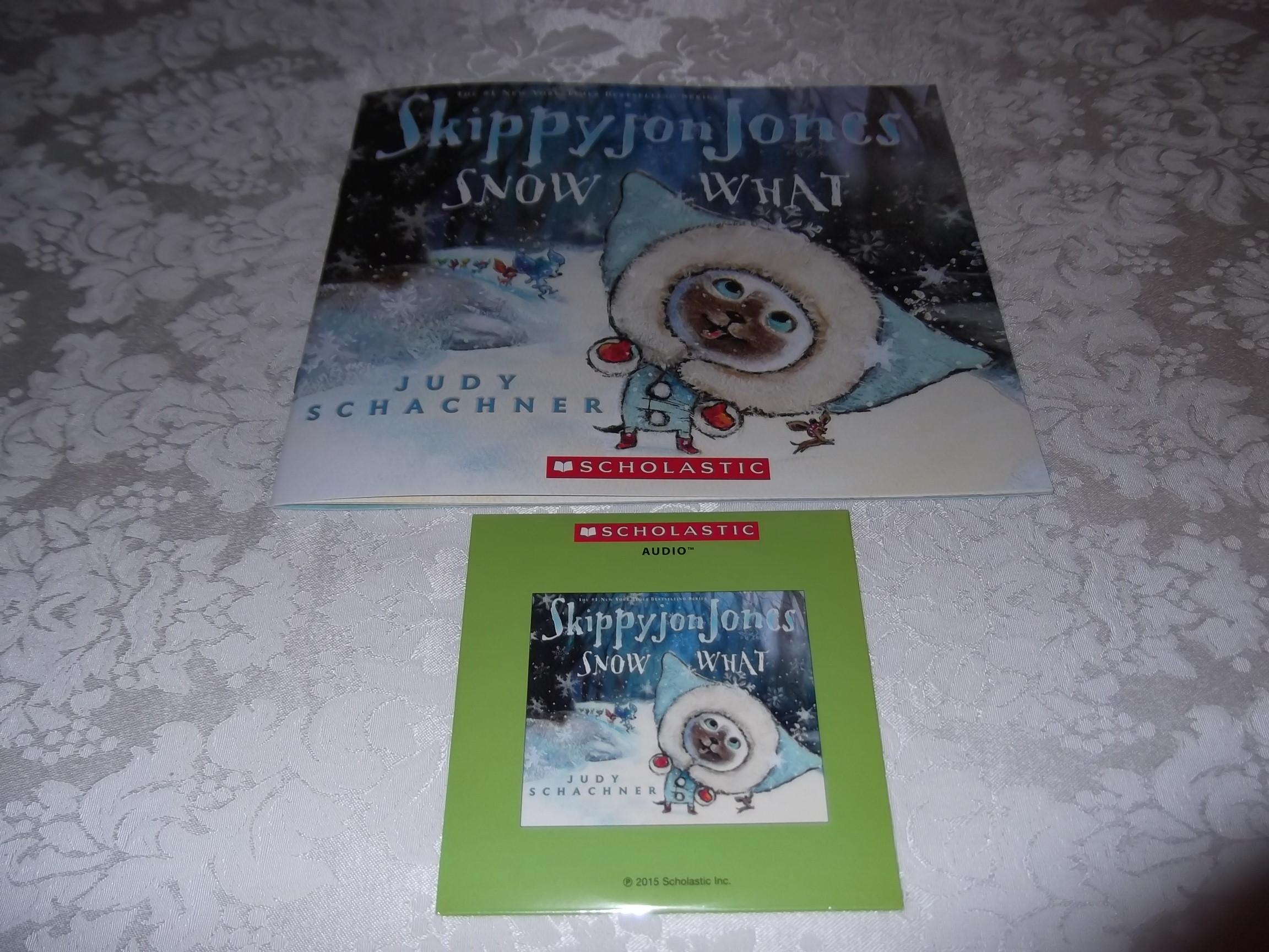 Skippyjon Jones Snow What Judy Schachner Audio CD and SC Brand New