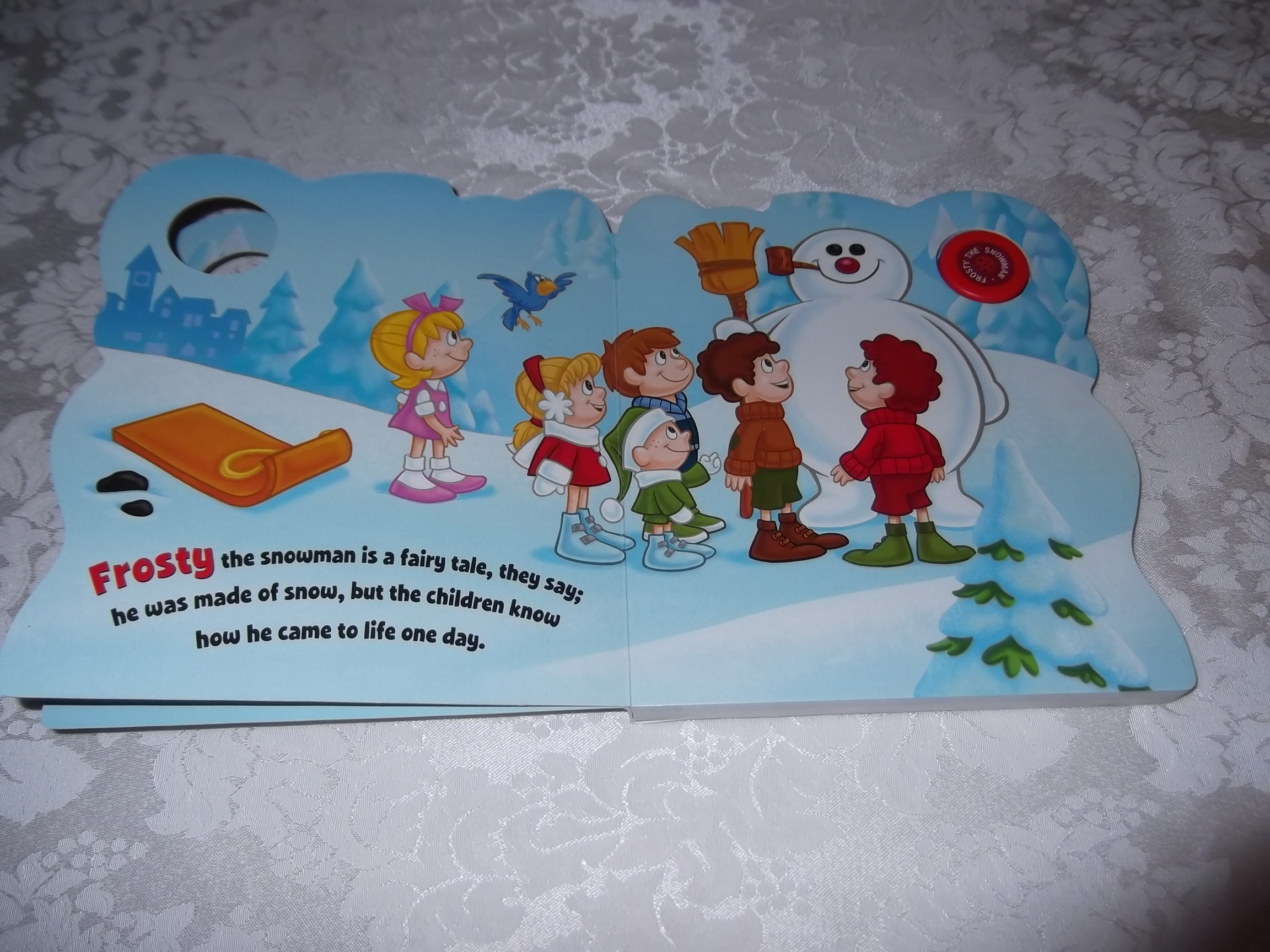Image 2 of Frosty the Snowman Jack Rollins and Steve Nelson Brand New Sing Along Board Book