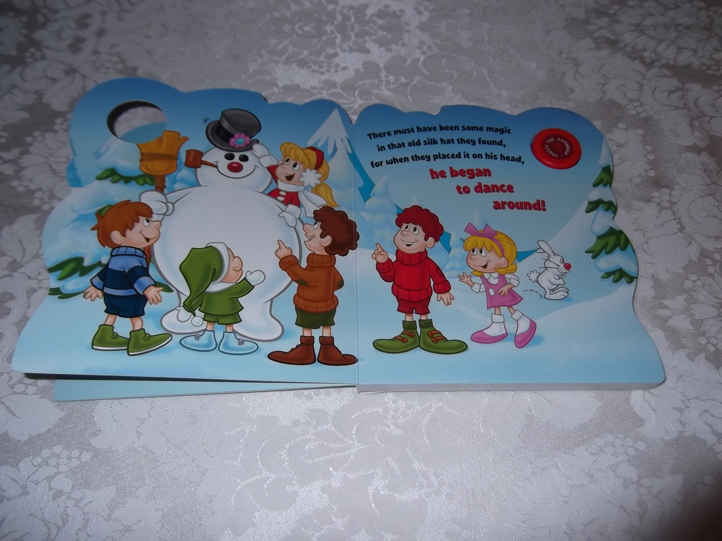 Image 3 of Frosty the Snowman Jack Rollins and Steve Nelson Brand New Sing Along Board Book