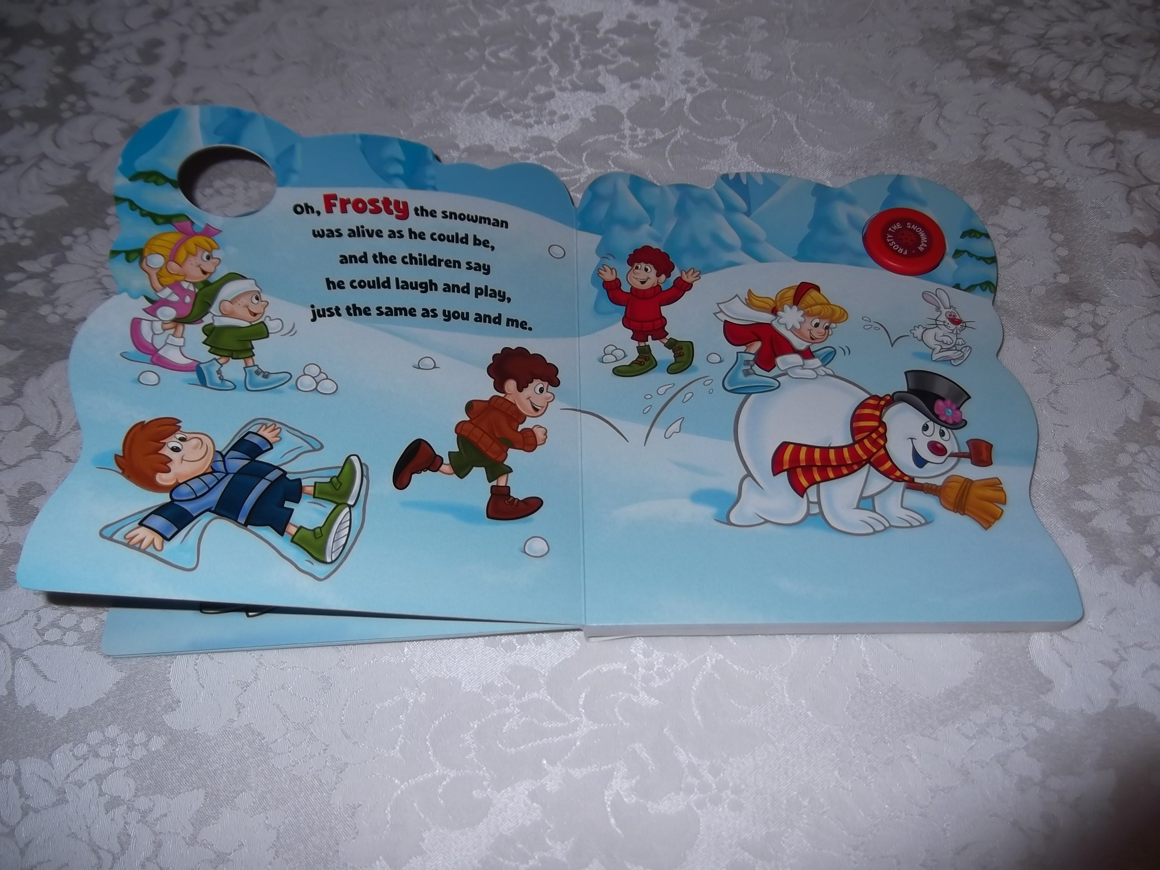 Image 4 of Frosty the Snowman Jack Rollins and Steve Nelson Brand New Sing Along Board Book