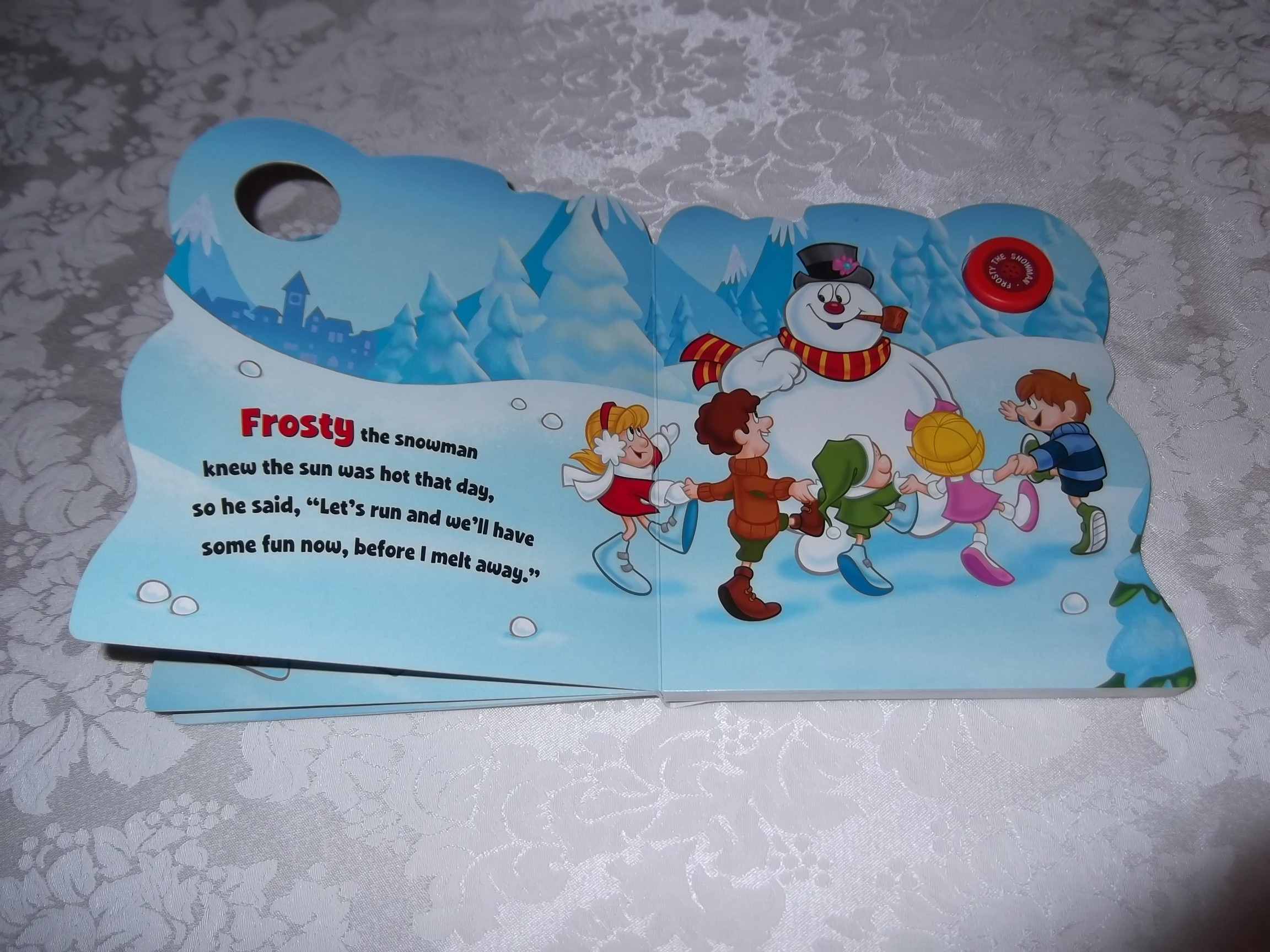 Image 5 of Frosty the Snowman Jack Rollins and Steve Nelson Brand New Sing Along Board Book