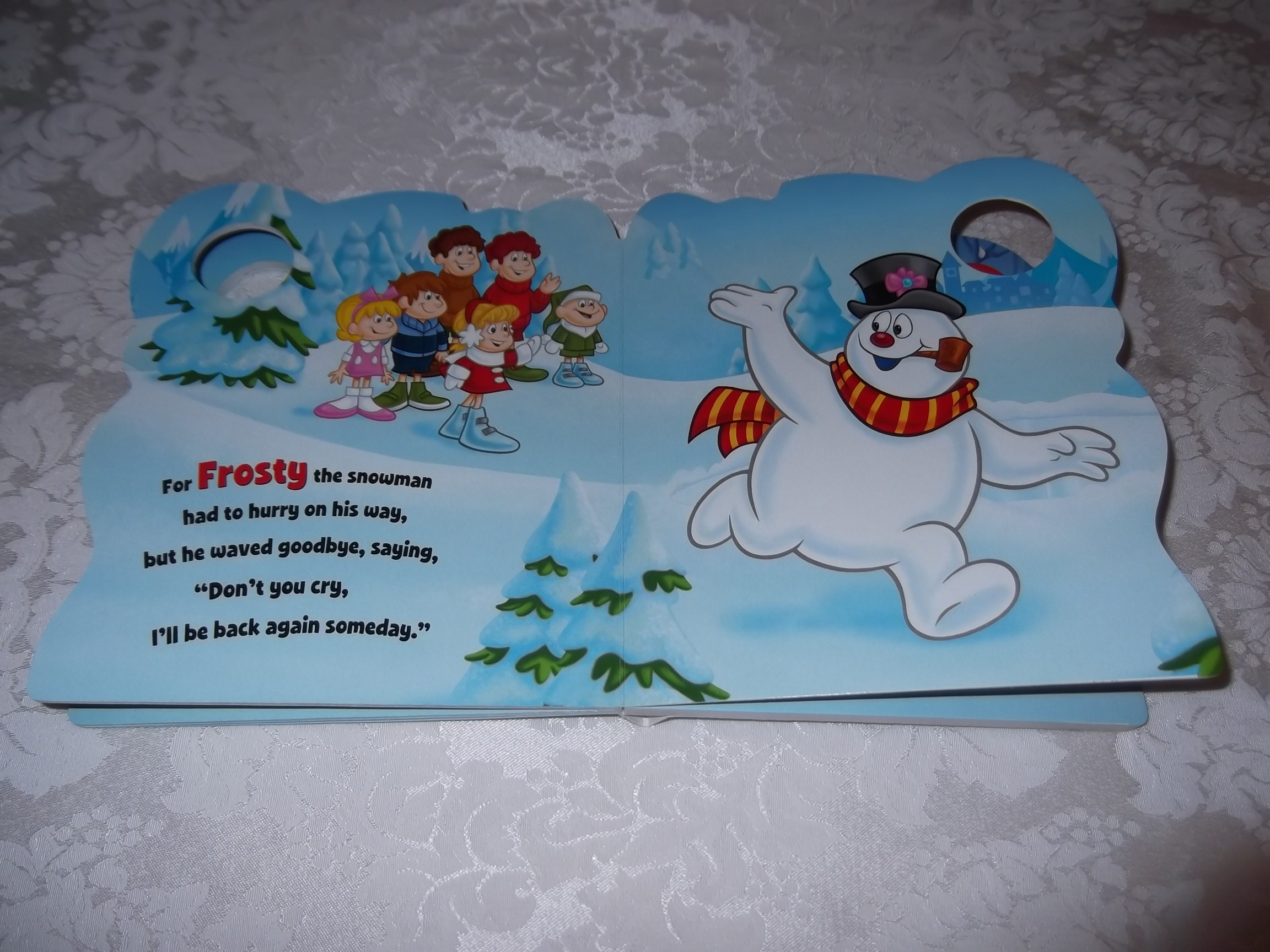 Image 7 of Frosty the Snowman Jack Rollins and Steve Nelson Brand New Sing Along Board Book