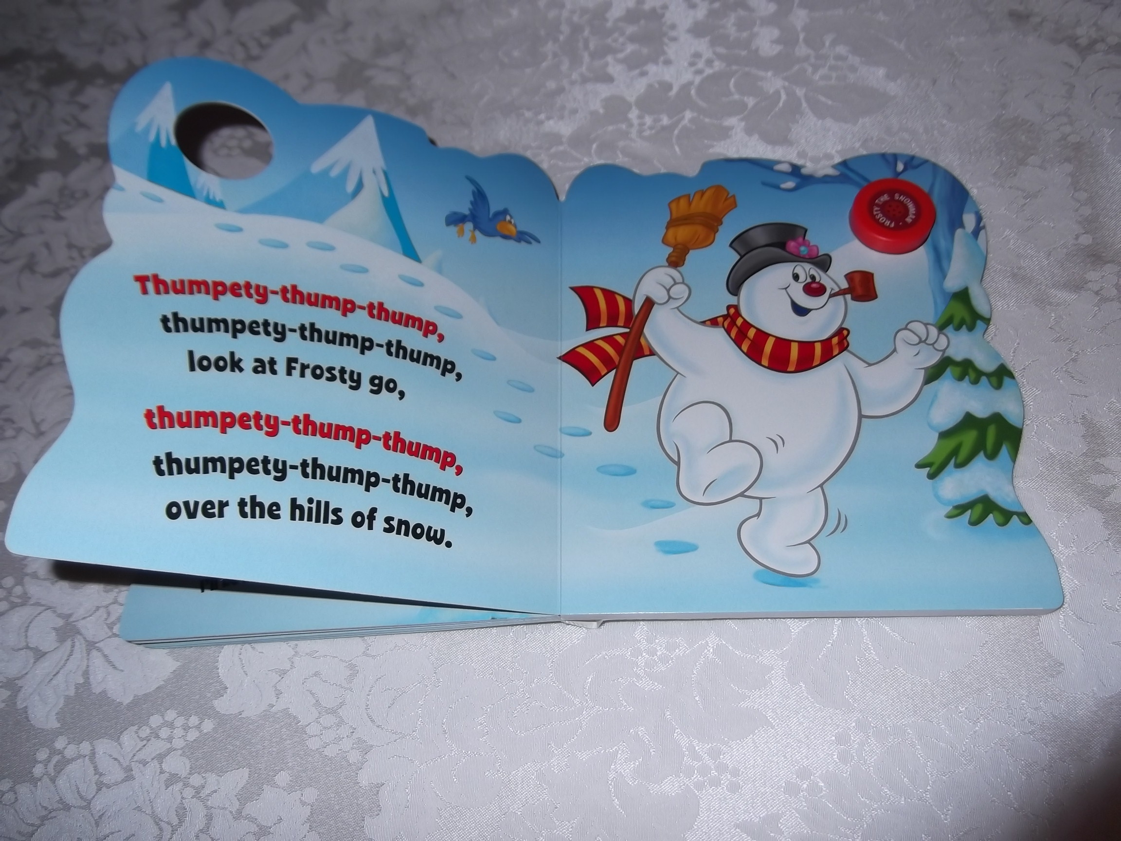 Image 8 of Frosty the Snowman Jack Rollins and Steve Nelson Brand New Sing Along Board Book