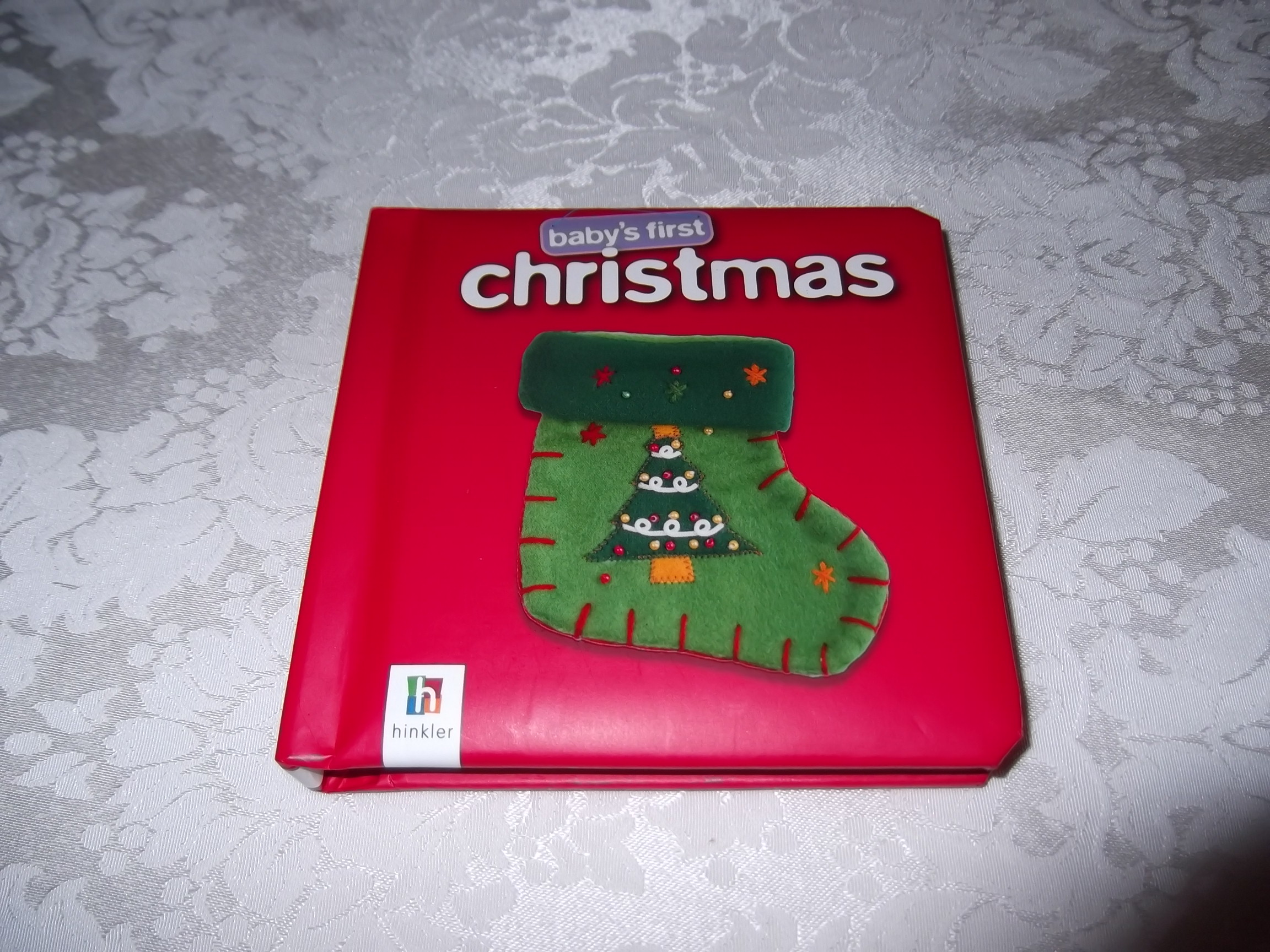 Baby's First Christmas Brand New Padded Board Book