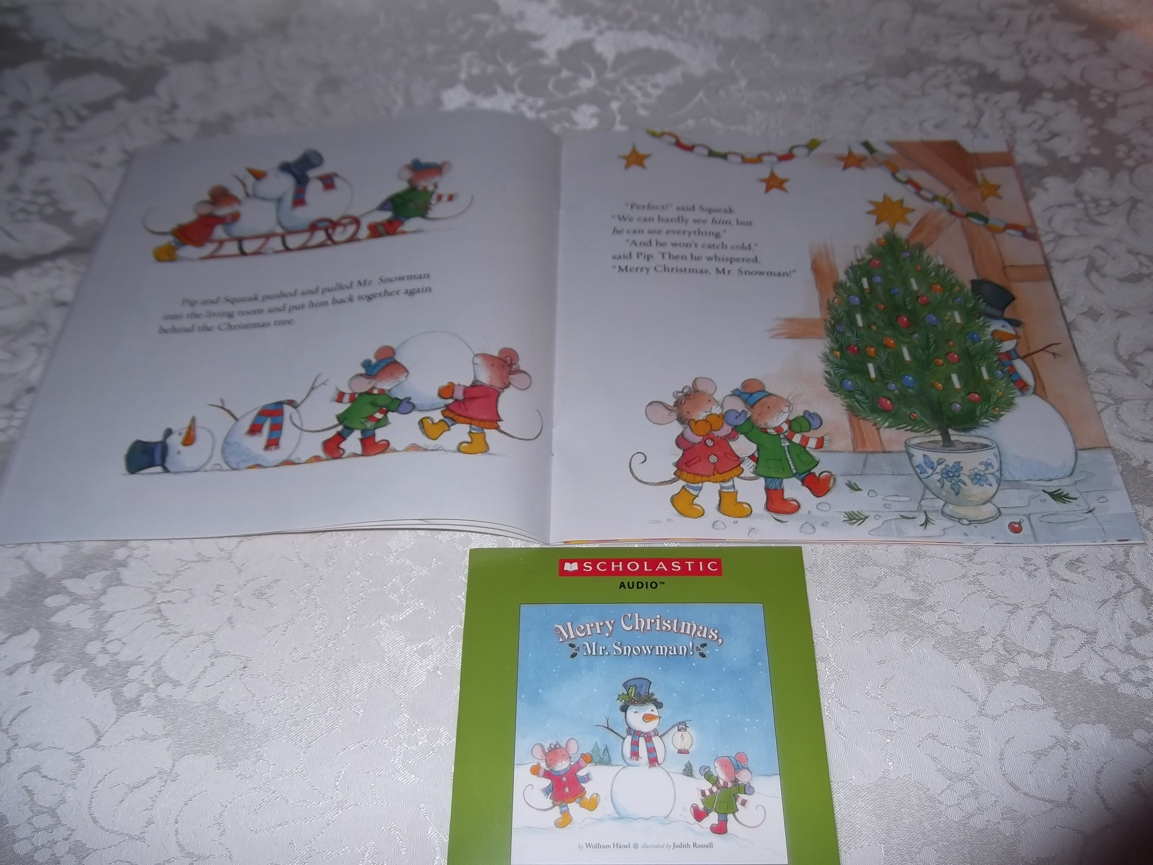 Image 4 of Merry Christmas, Mr. Snowman! Wolfram Hanel Audio CD and SC Brand New