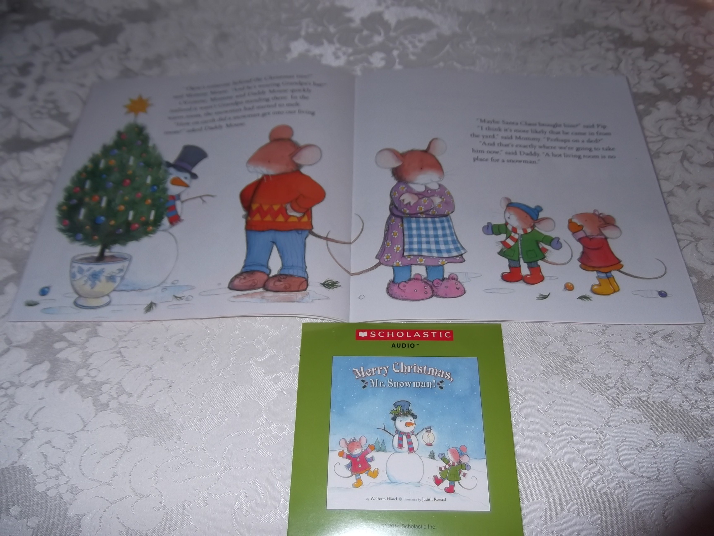 Image 5 of Merry Christmas, Mr. Snowman! Wolfram Hanel Audio CD and SC Brand New